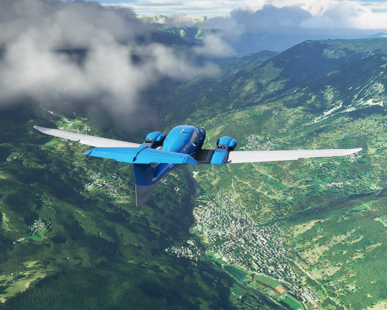Microsoft Flight Simulator (2020) Wallpaper in 1280x1024