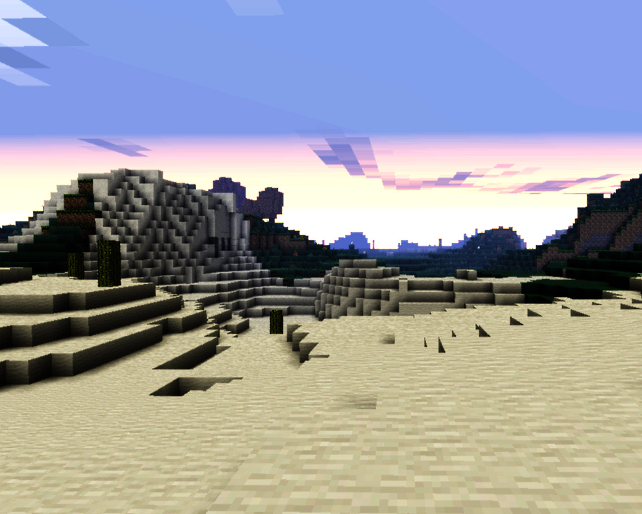 Minecraft Wallpaper in 1280x1024