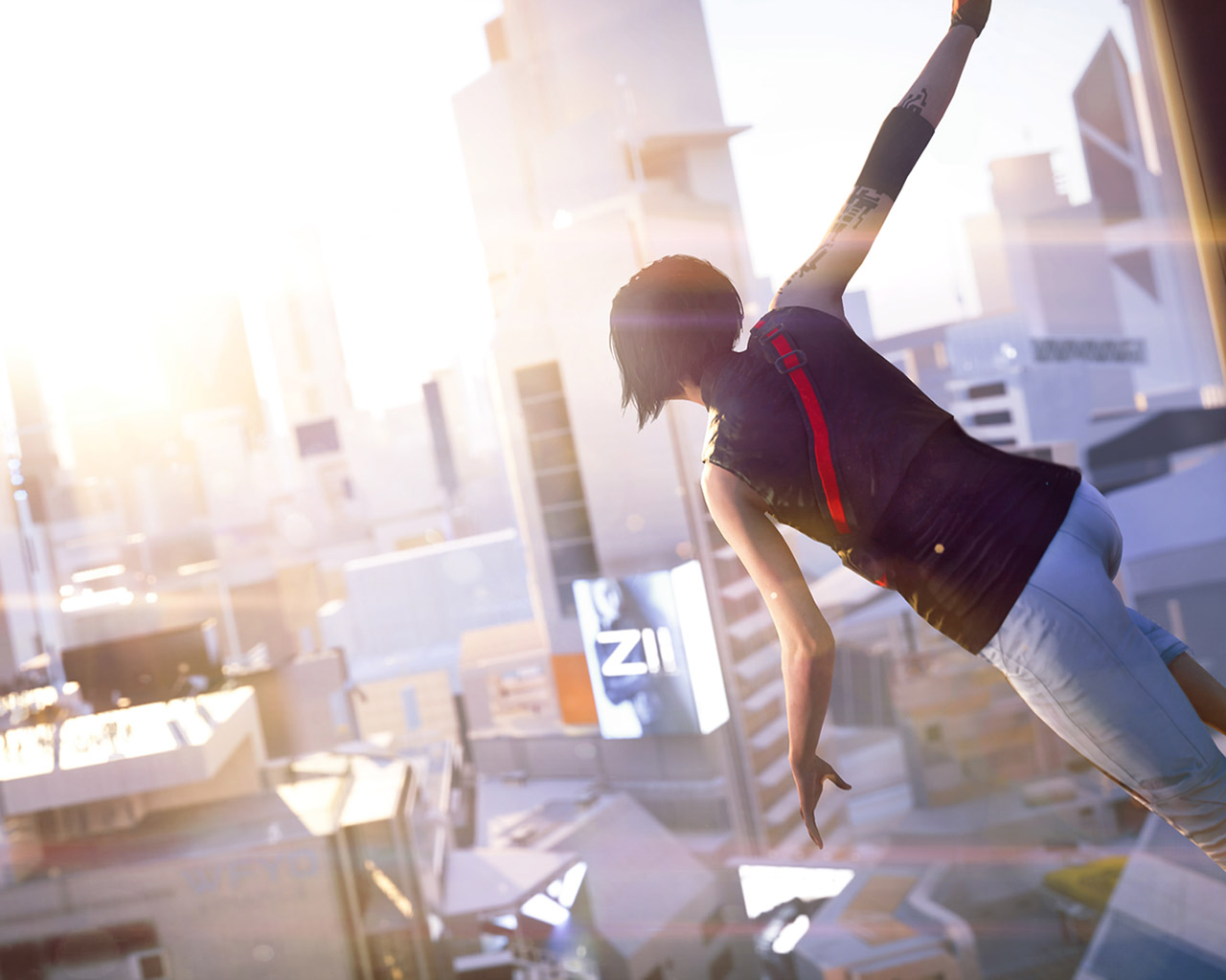Free Mirror's Edge Catalyst Wallpaper in 1280x1024