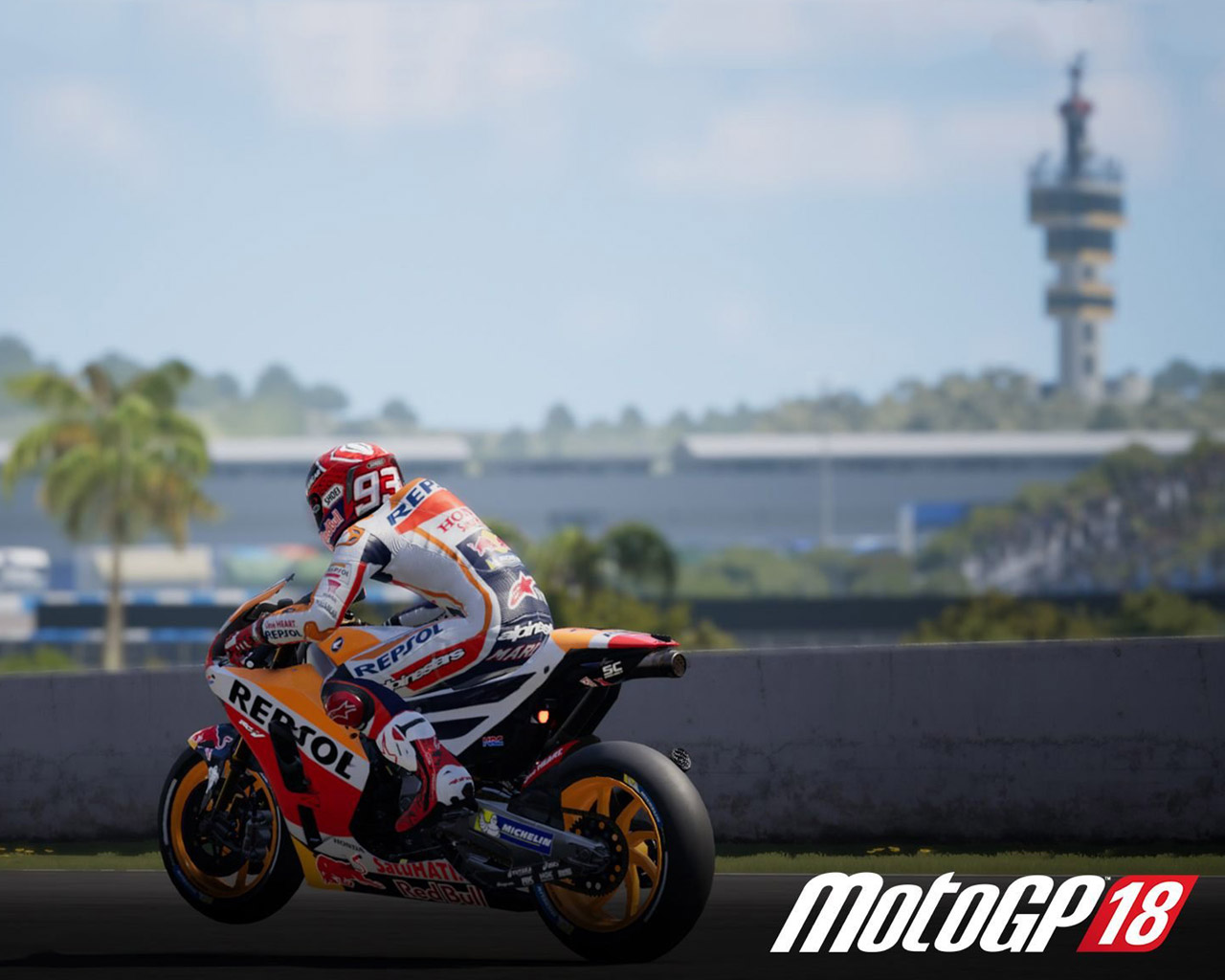 Free MotoGP 18 Wallpaper in 1280x1024