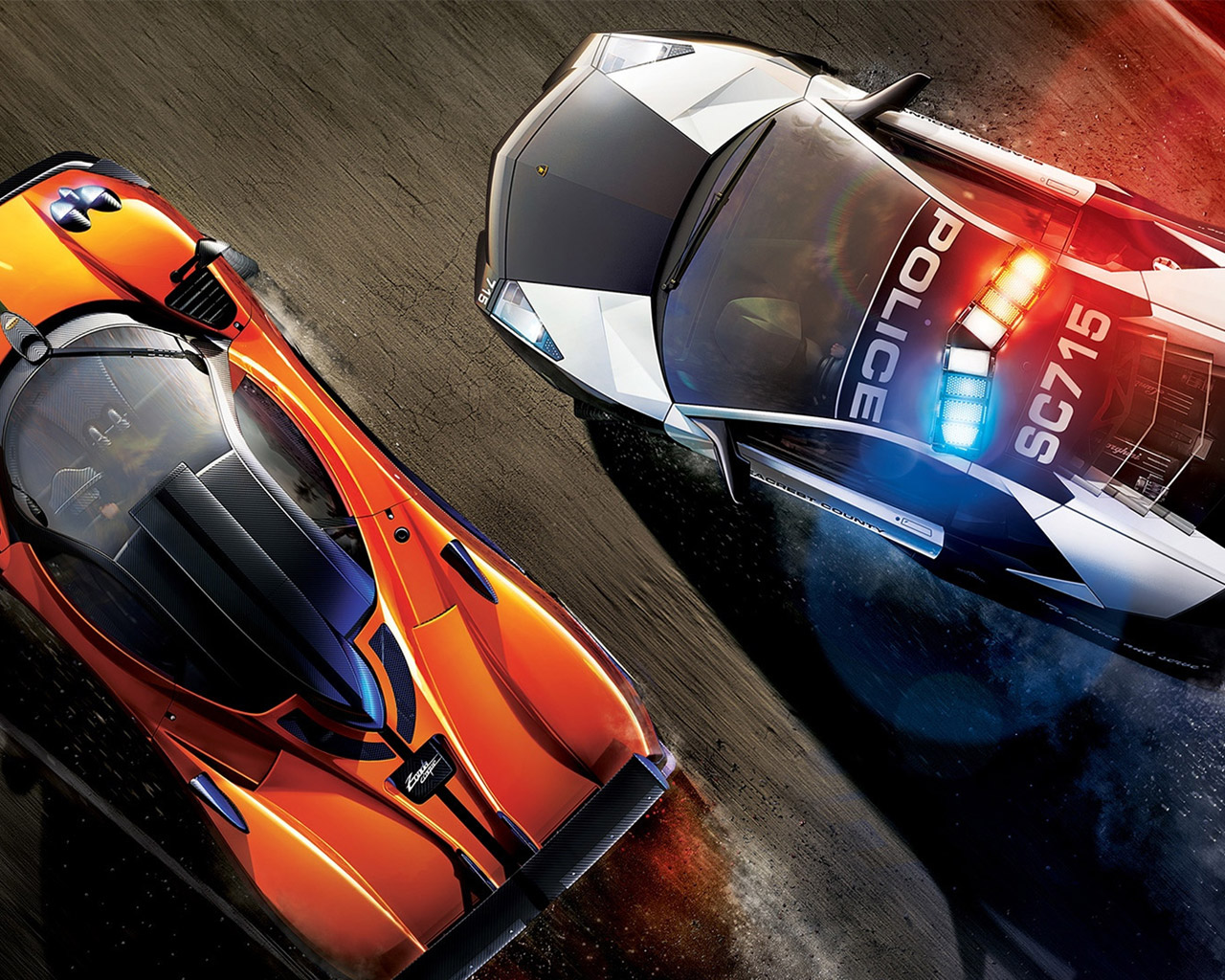 Need for Speed: Hot Pursuit Wallpaper in 1280x1024