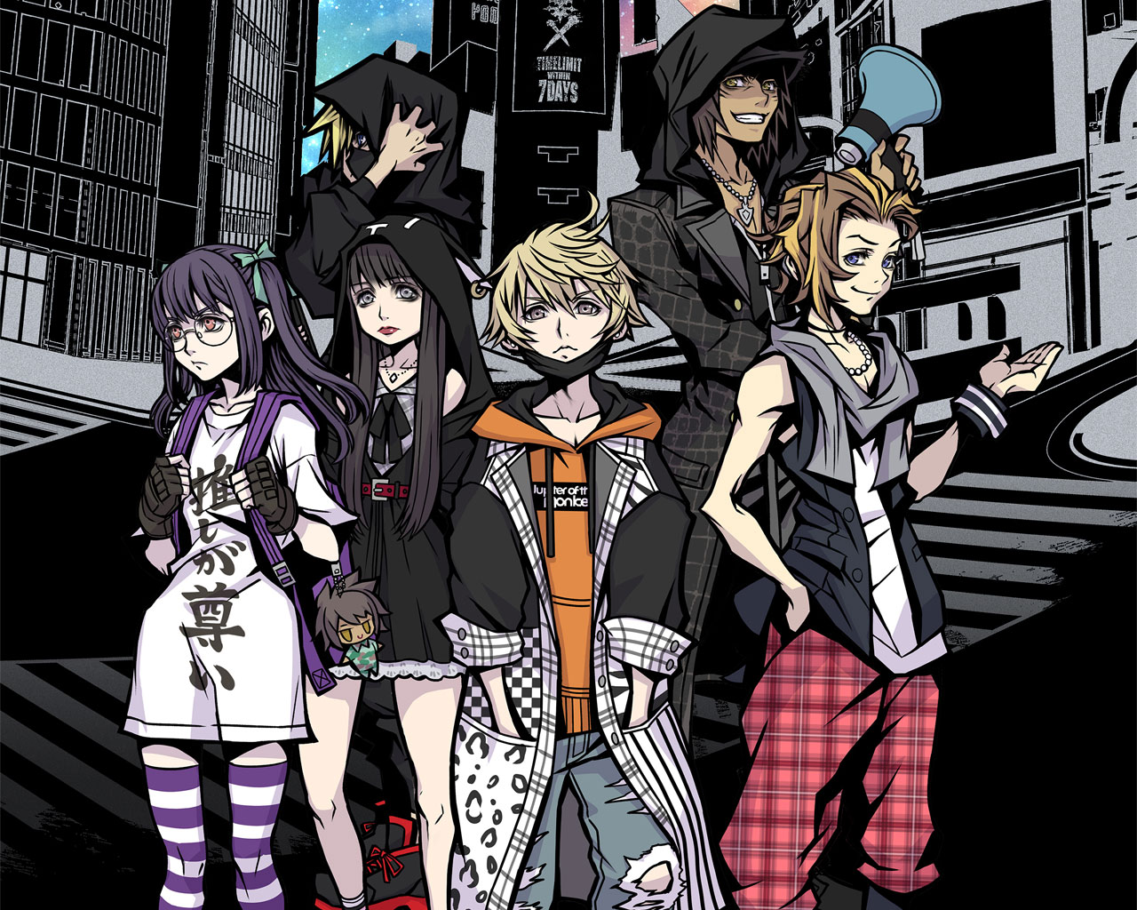 Free NEO: The World Ends with You Wallpaper in 1280x1024