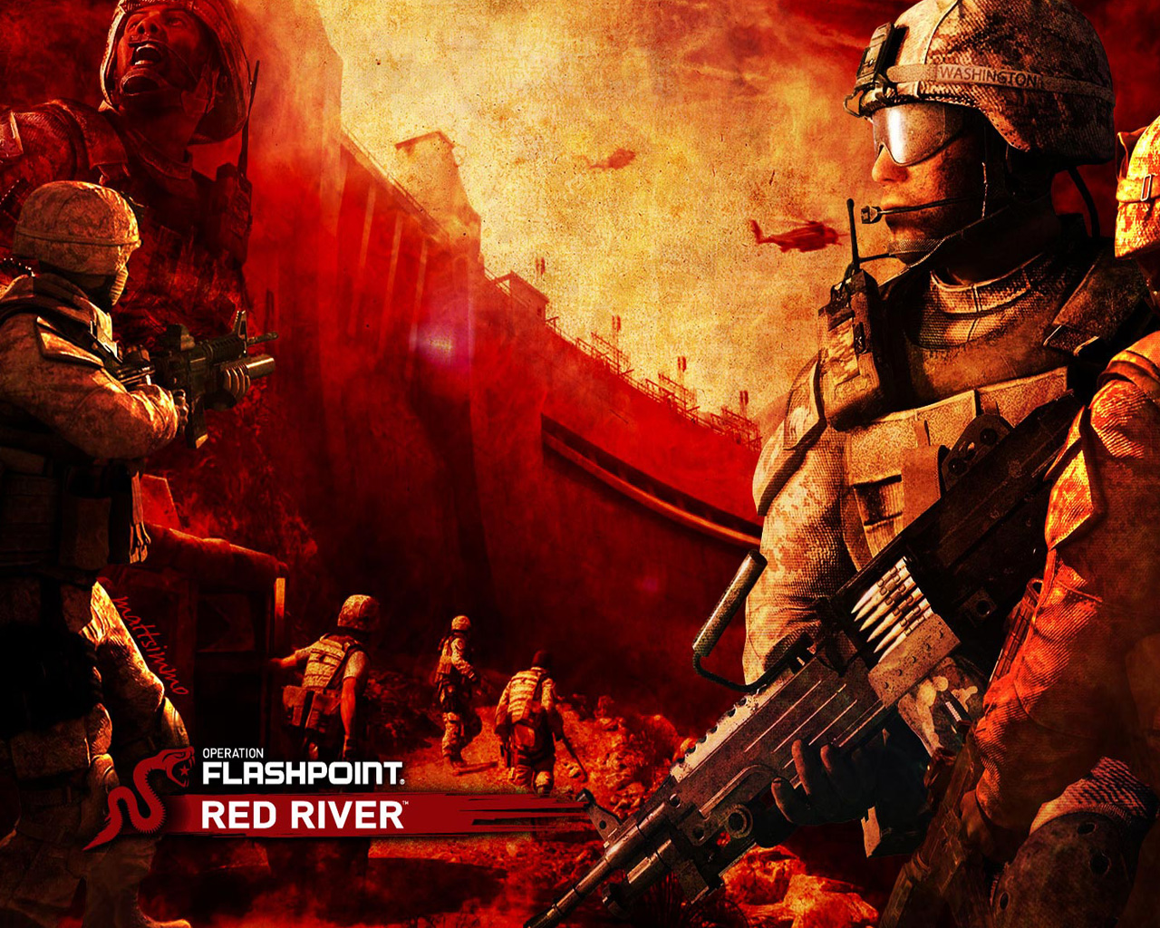 Operation Flashpoint: Red River Wallpaper in 1280x1024