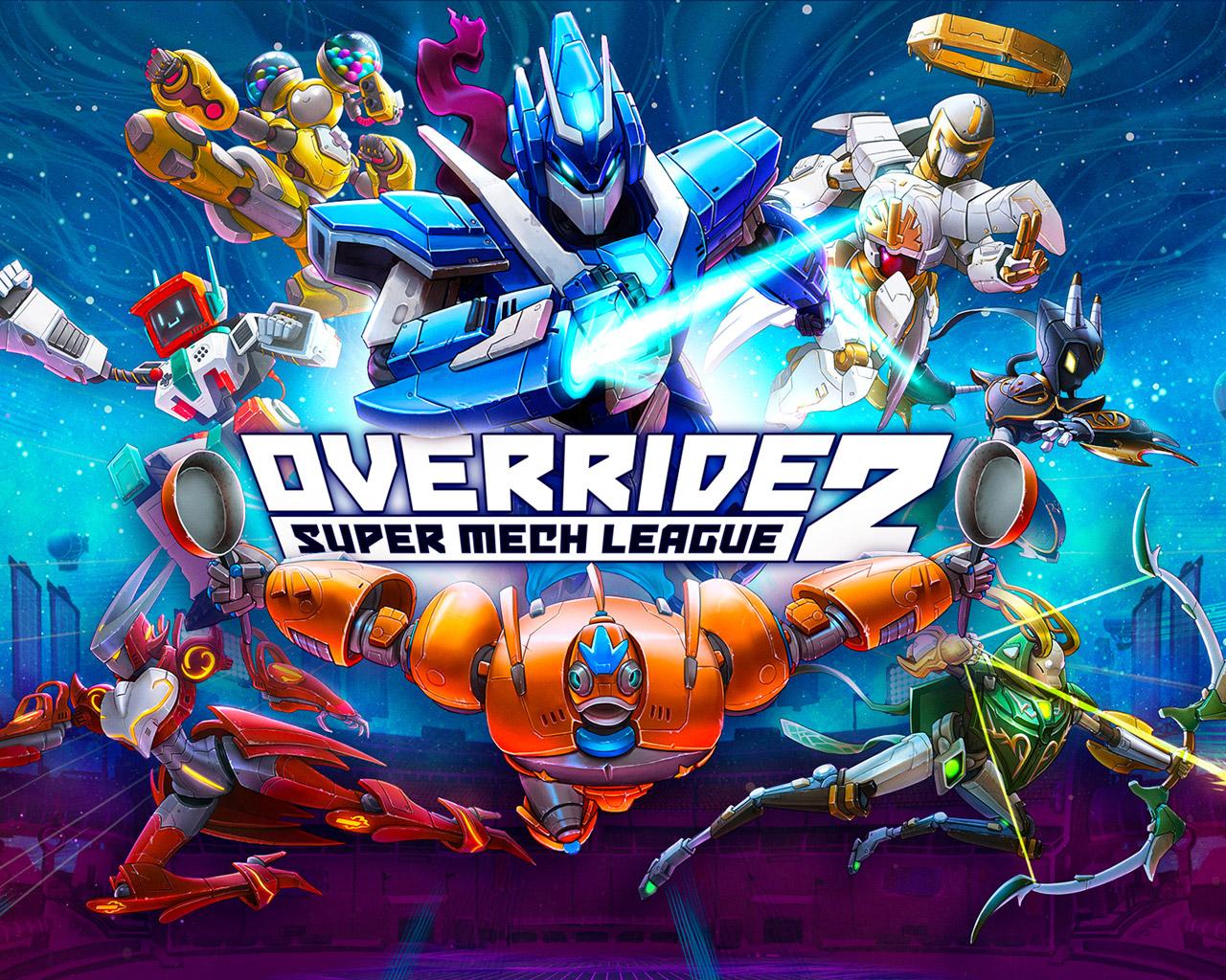 Override 2: Super Mech League Wallpaper in 1280x1024