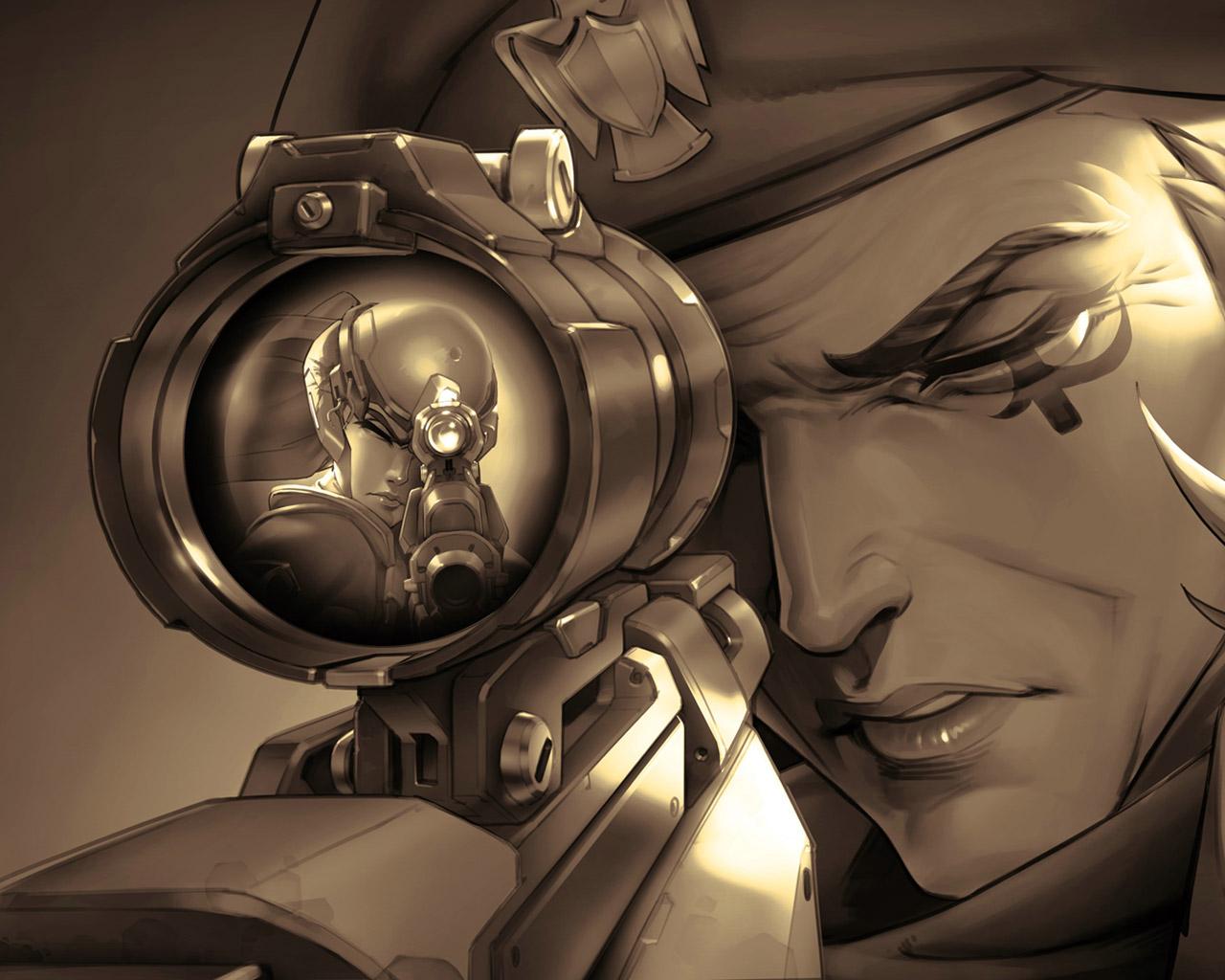 Overwatch Wallpaper in 1280x1024