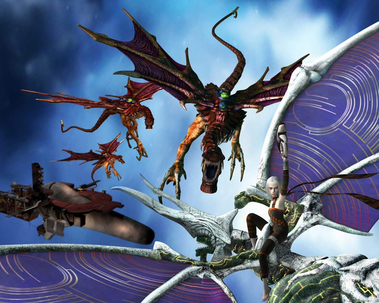 Panzer Dragoon Orta Wallpaper in 1280x1024