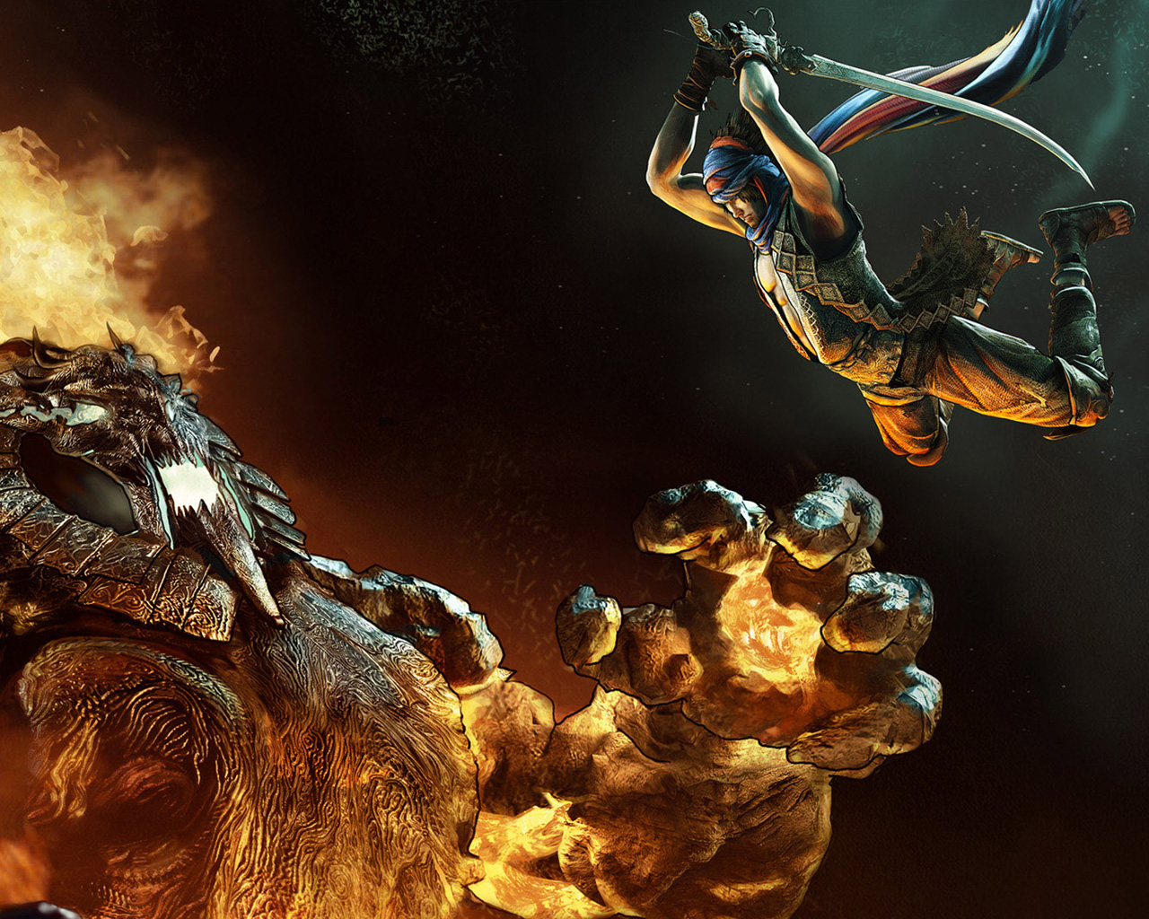 Free Prince of Persia Wallpaper in 1280x1024