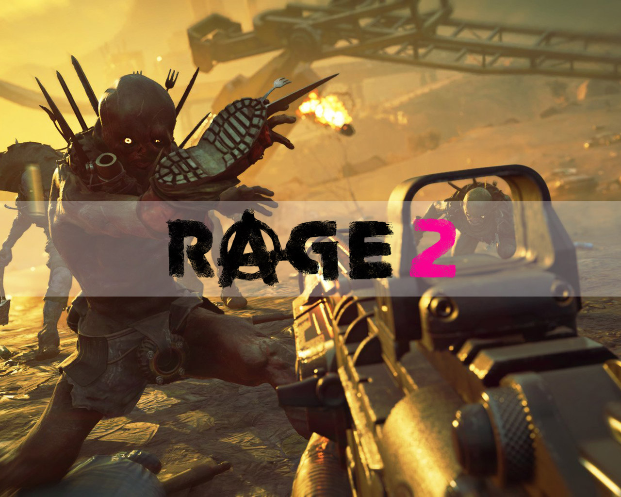 Rage 2 Wallpaper in 1280x1024