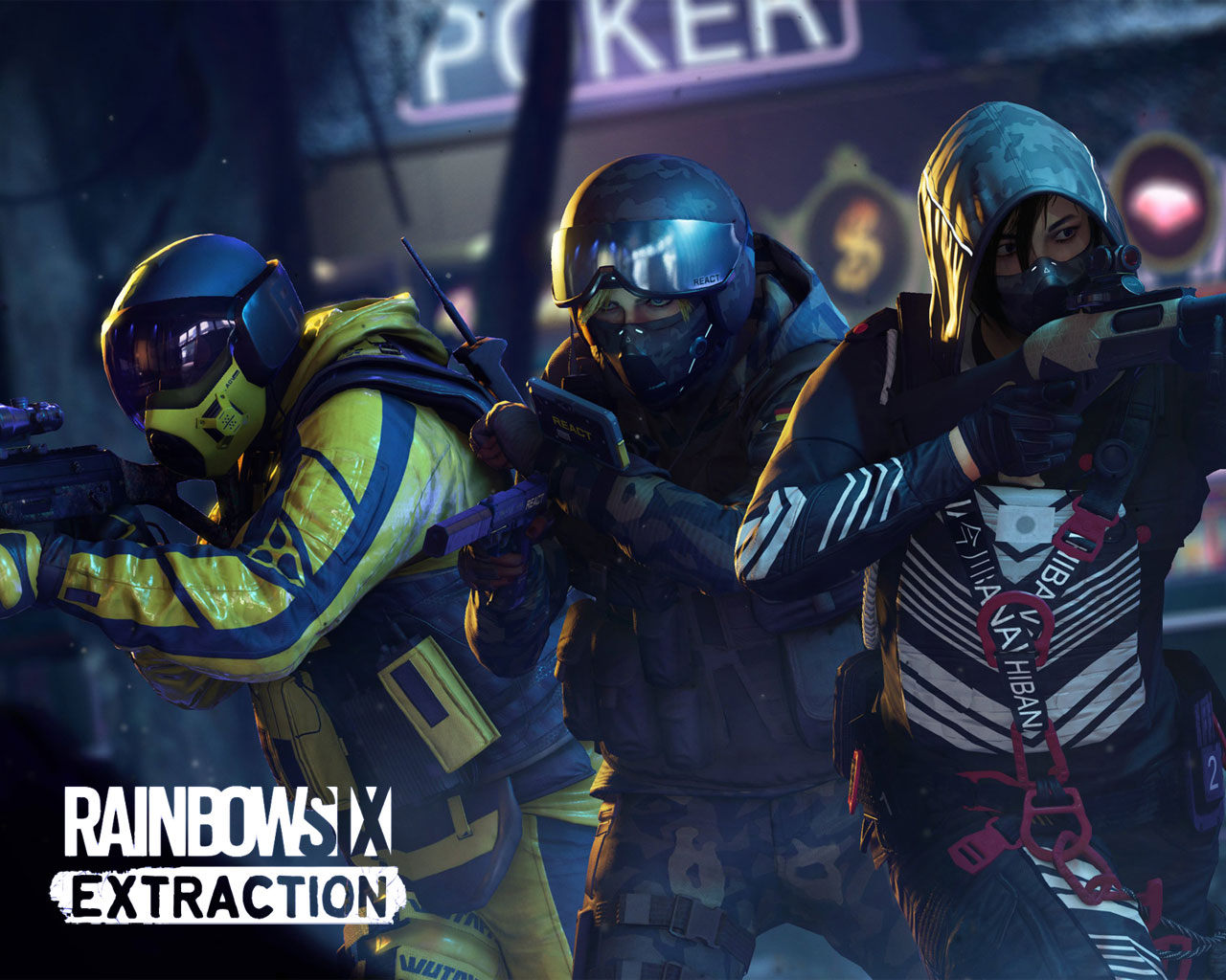 Free Rainbow Six Extraction Wallpaper in 1280x1024