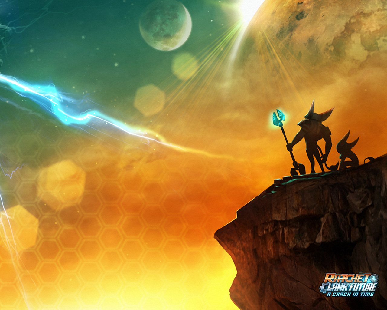 Free Ratchet & Clank Future: A Crack in Time Wallpaper in 1280x1024