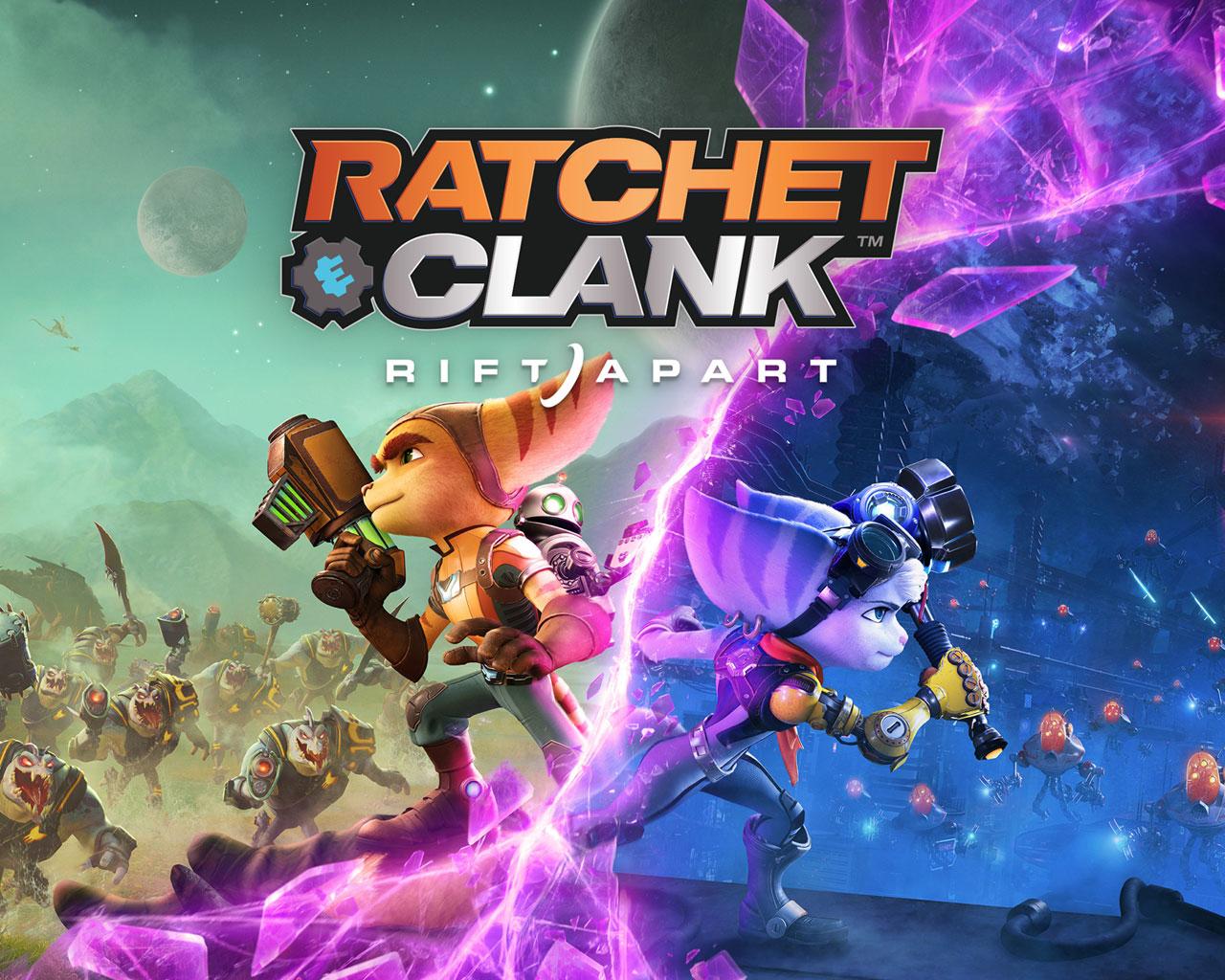 Free Ratchet & Clank: Rift Apart Wallpaper in 1280x1024