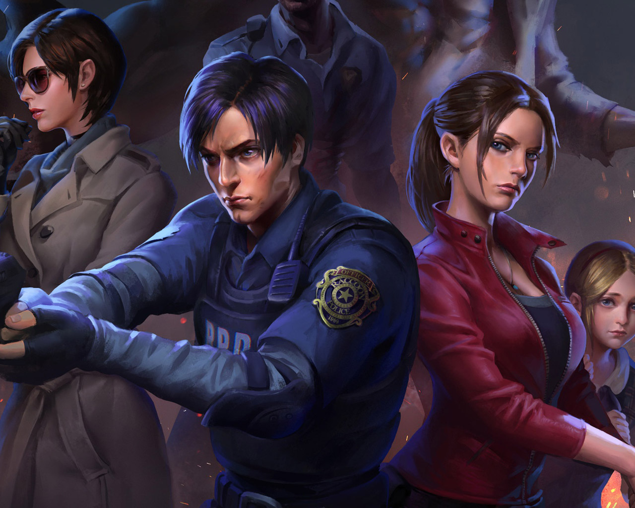 Free Resident Evil 2 Wallpaper in 1280x1024