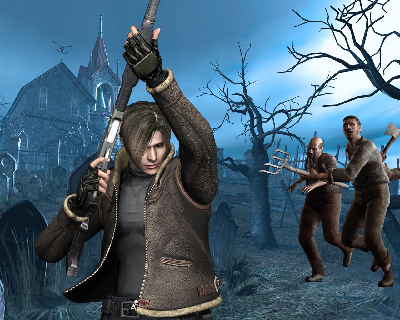 Resident Evil 4 Wallpaper in 1280x1024