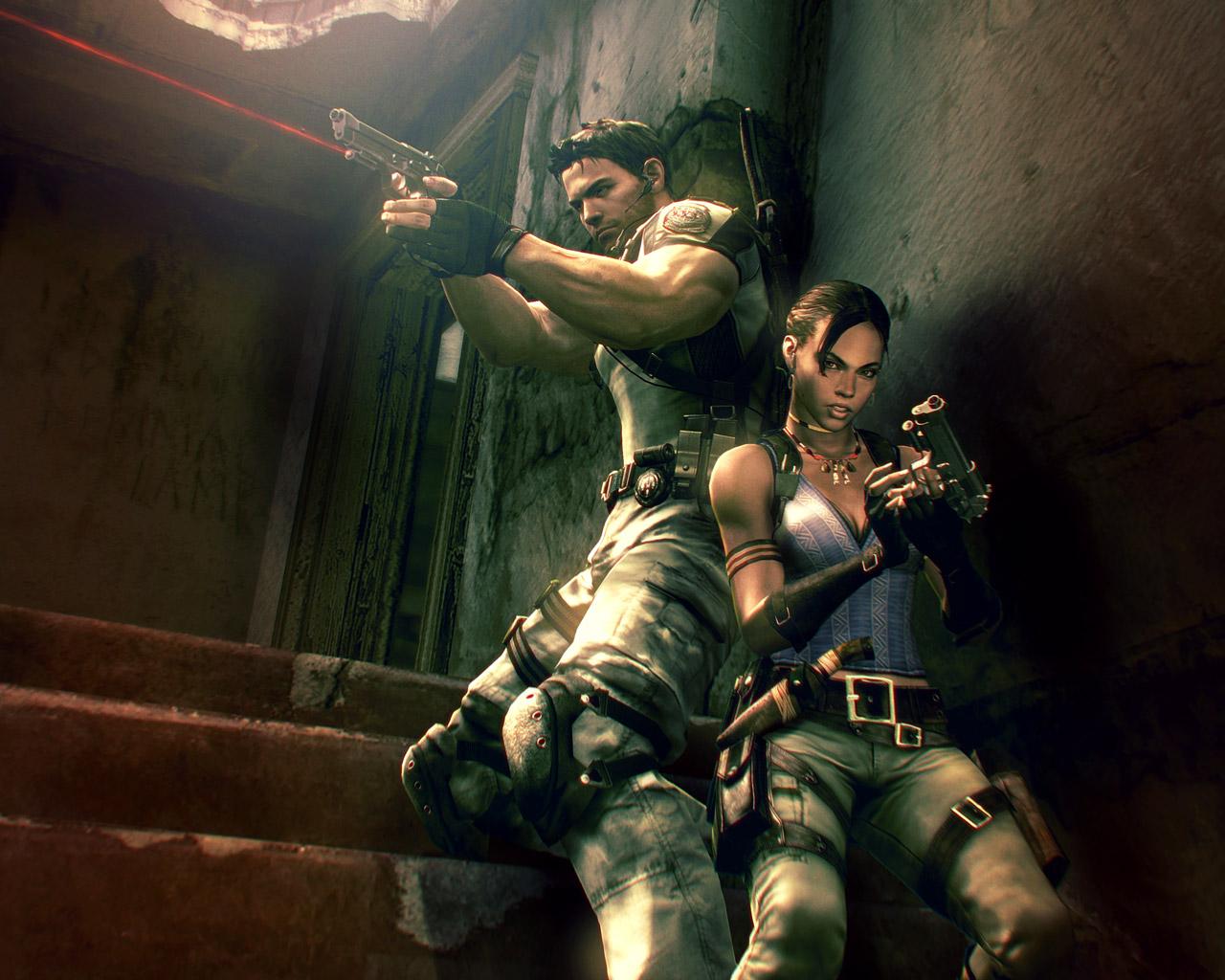 Free Resident Evil 5 Wallpaper in 1280x1024