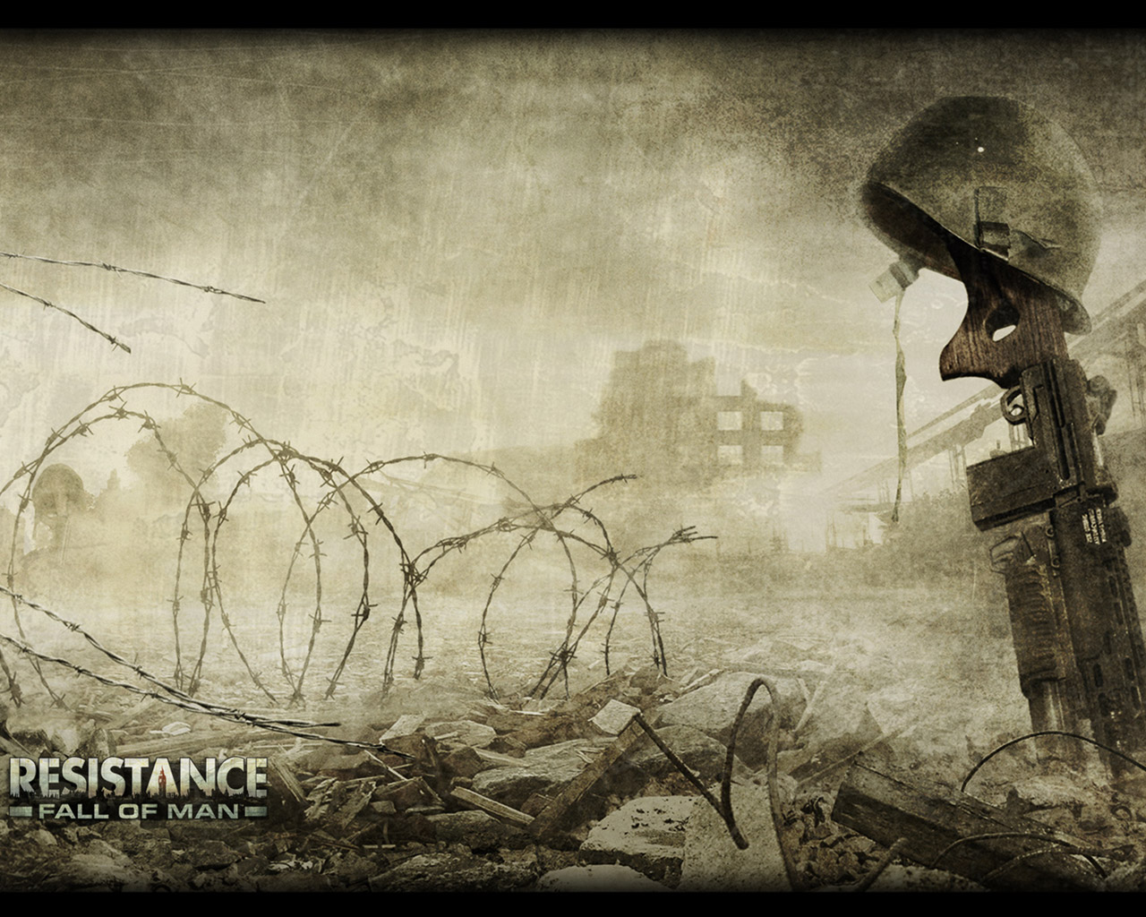Free Resistance: Fall of Man Wallpaper in 1280x1024