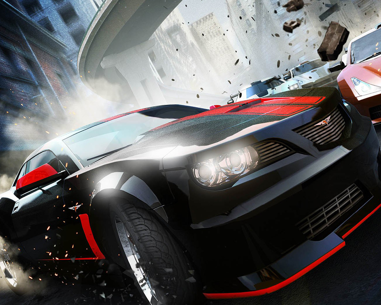 Free Ridge Racer Unbounded Wallpaper in 1280x1024