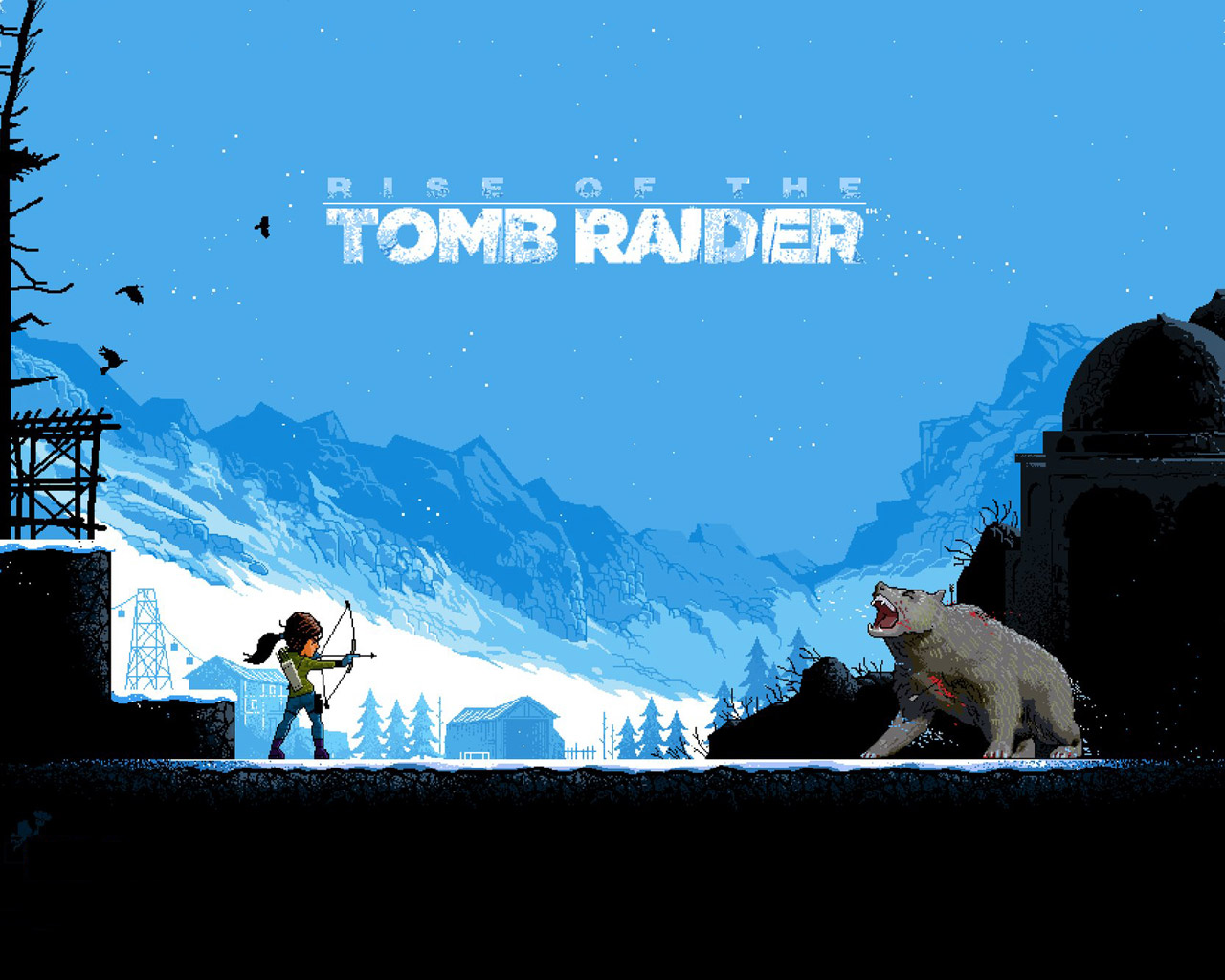 Free Rise of the Tomb Raider Wallpaper in 1280x1024