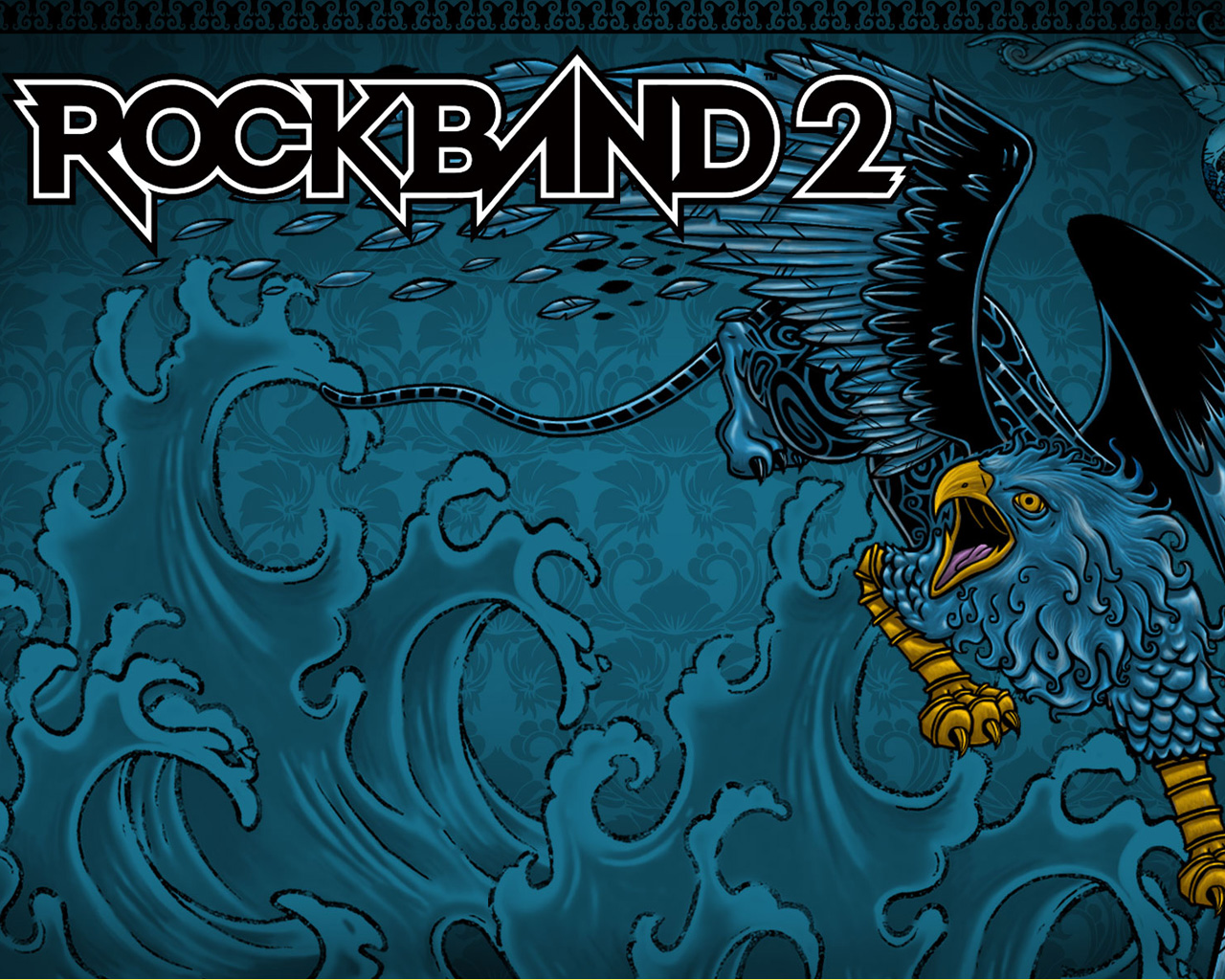 Rock Band 2 Wallpaper in 1280x1024