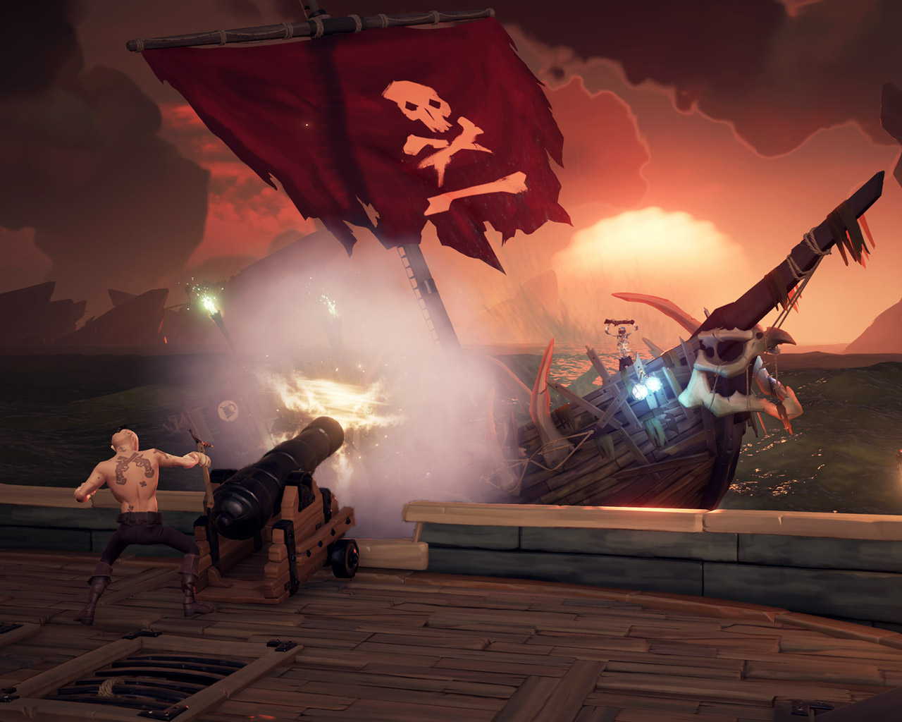 Sea of Thieves Wallpaper in 1280x1024