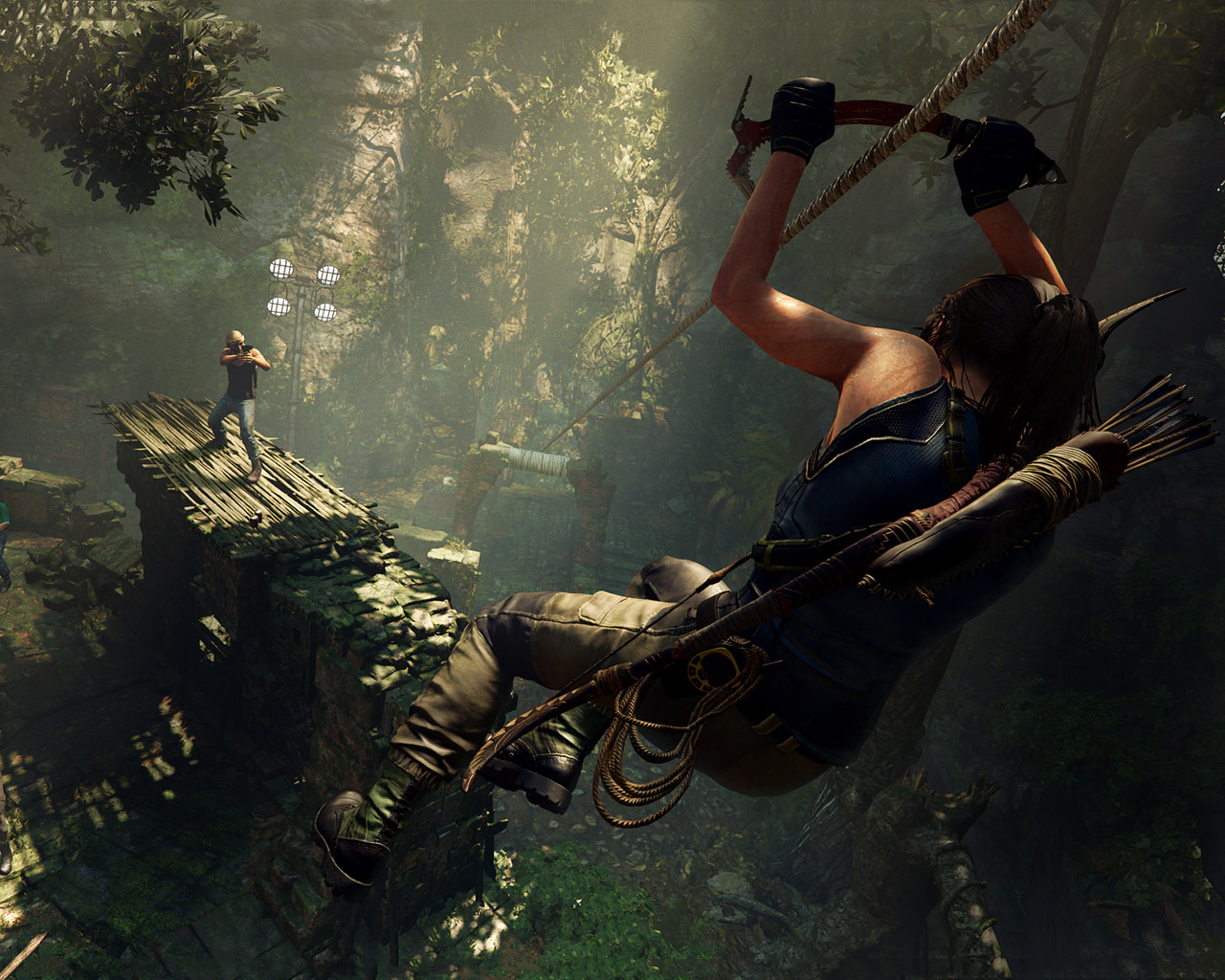 Free Shadow of the Tomb Raider Wallpaper in 1280x1024