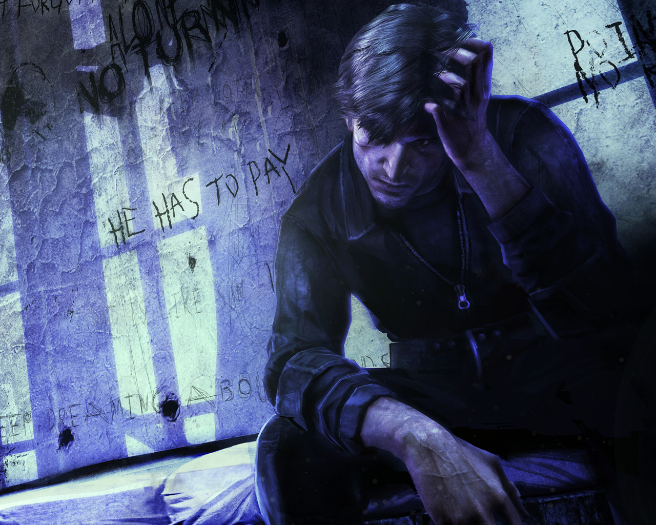 Silent Hill: Downpour Wallpaper in 1280x1024