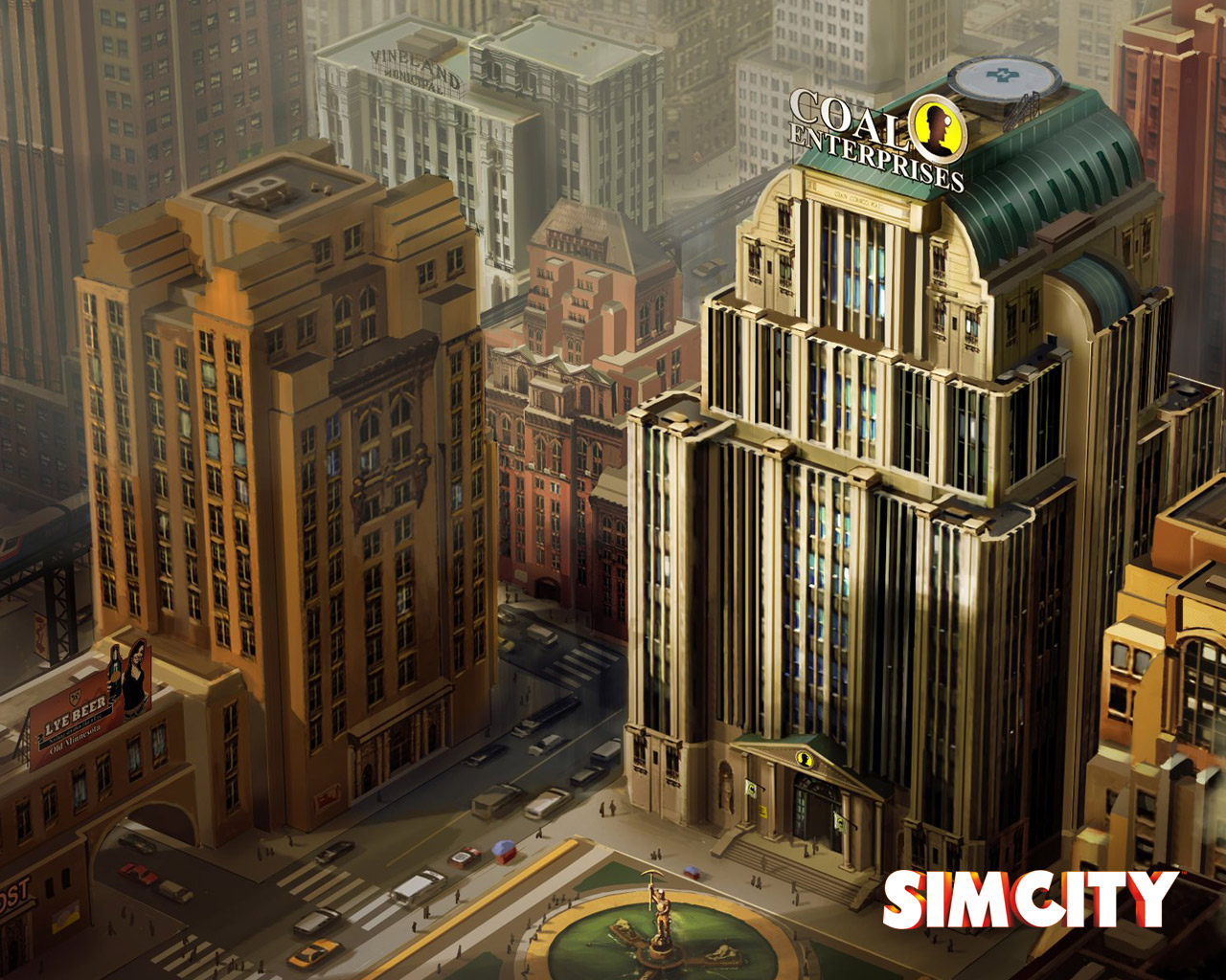 Free SimCity Wallpaper in 1280x1024