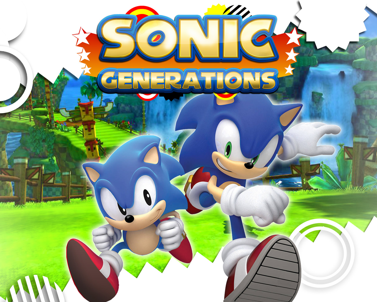 Free Sonic Generations Wallpaper in 1280x1024