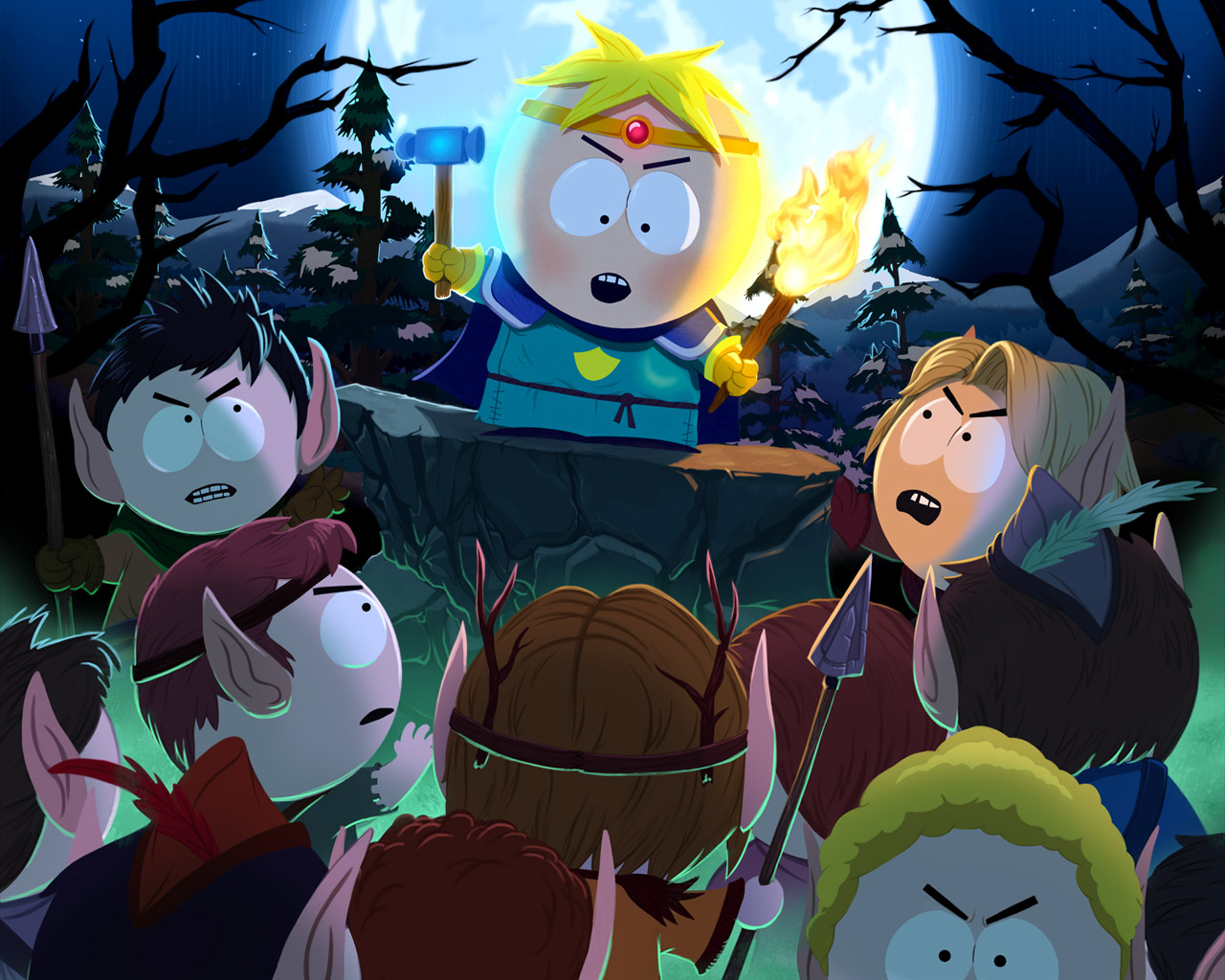 South Park: The Stick of Truth Wallpaper in 1280x1024