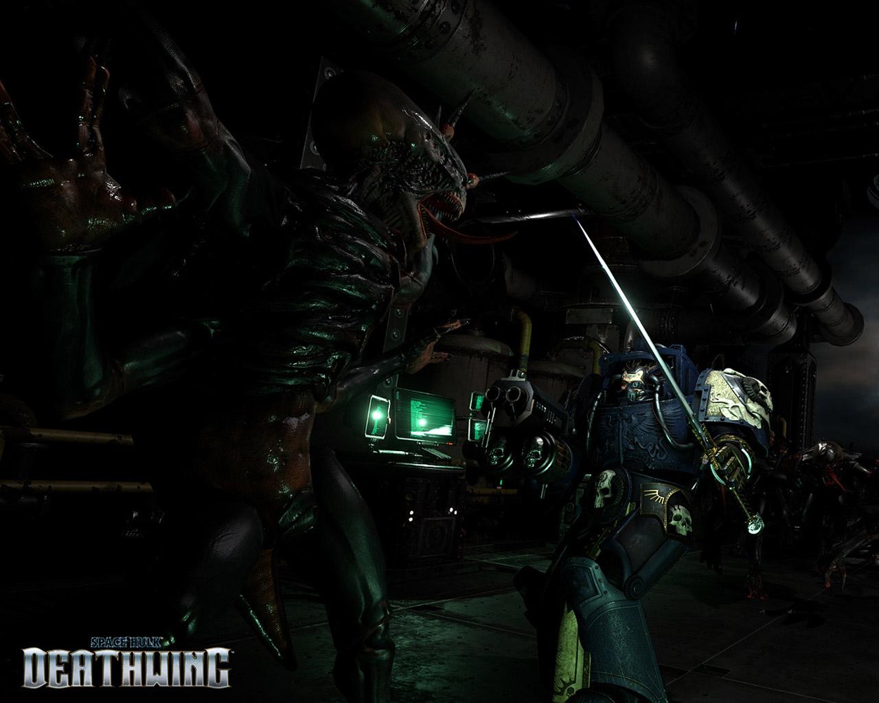 Free Space Hulk: Deathwing Wallpaper in 1280x1024