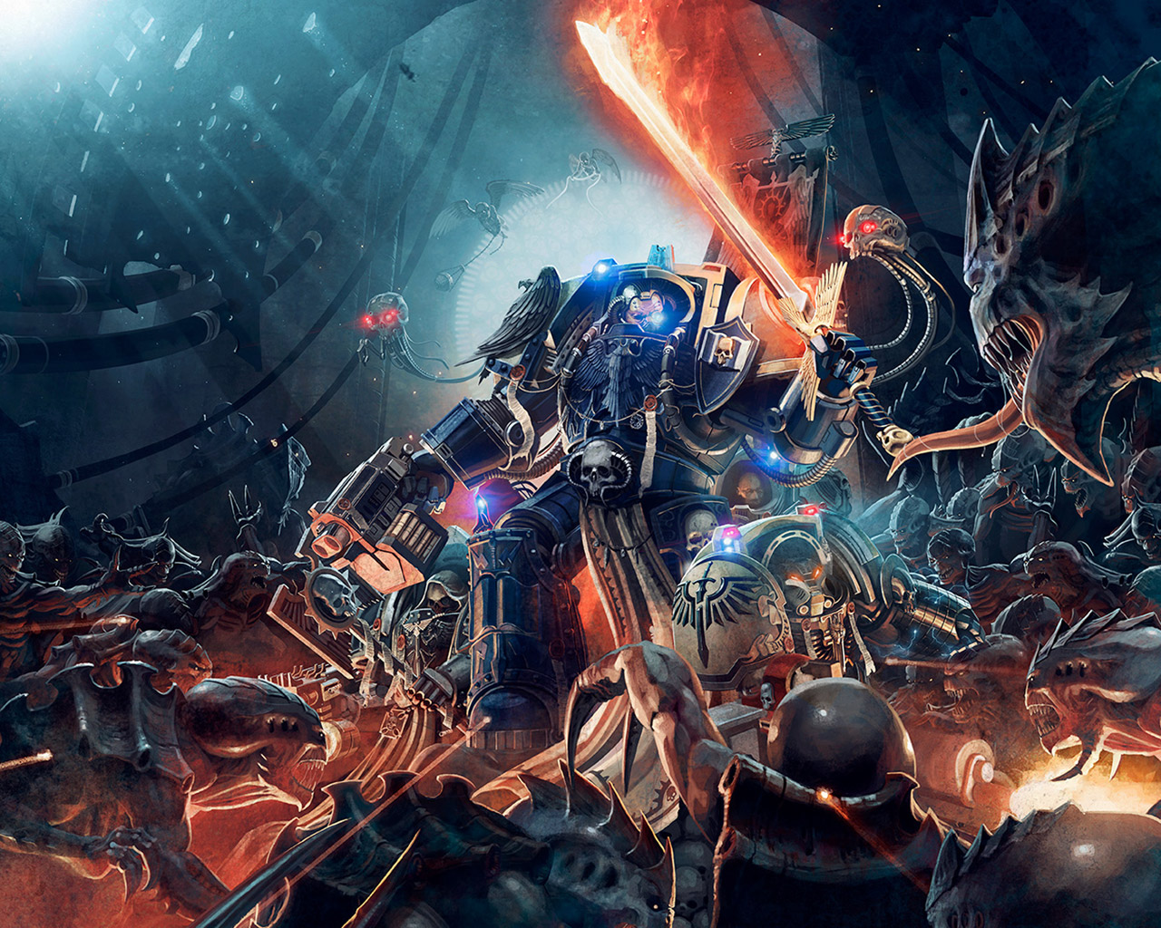 Free Space Hulk: Deathwing Wallpaper in 1280x1024