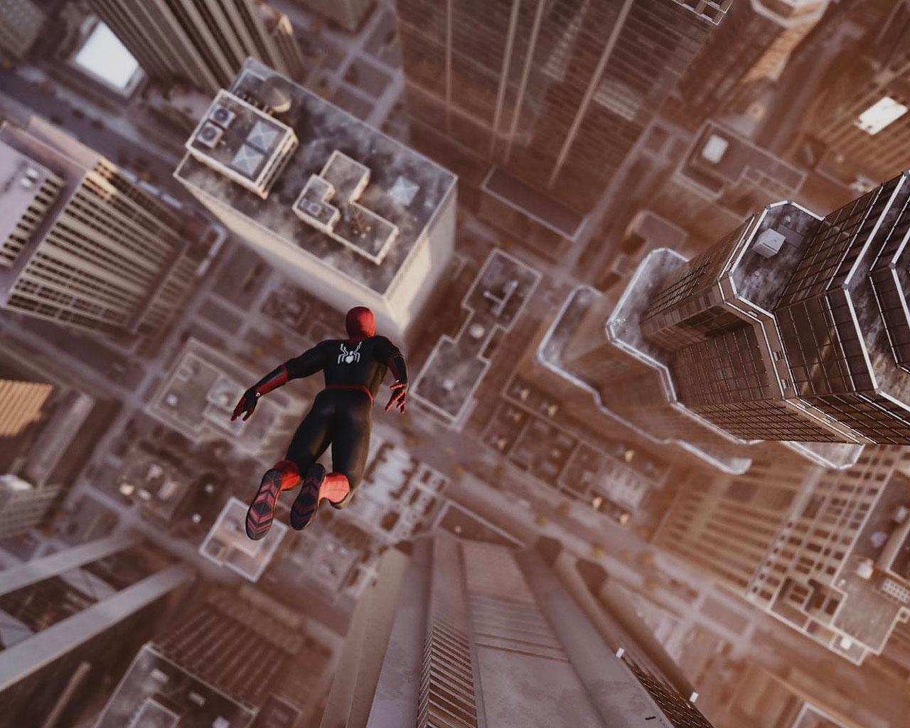 Free Spider-Man Wallpaper in 1280x1024