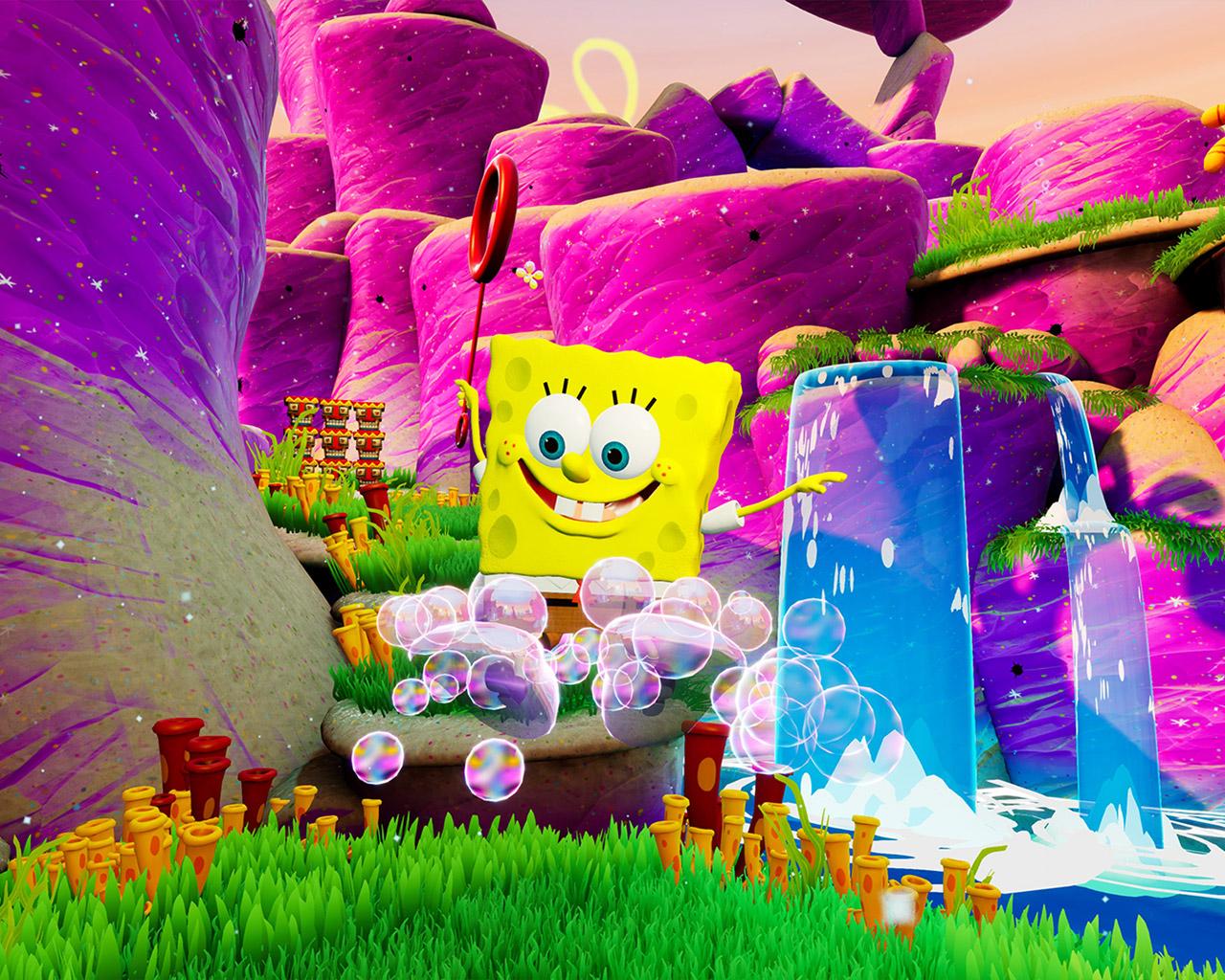 SpongeBob SquarePants: Battle for Bikini Bottom Wallpaper in 1280x1024