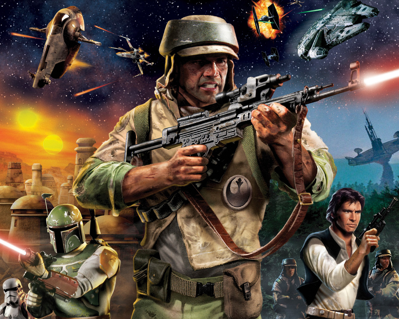 Free Star Wars Battlefront Renegade Squadron Wallpaper In 1280x1024