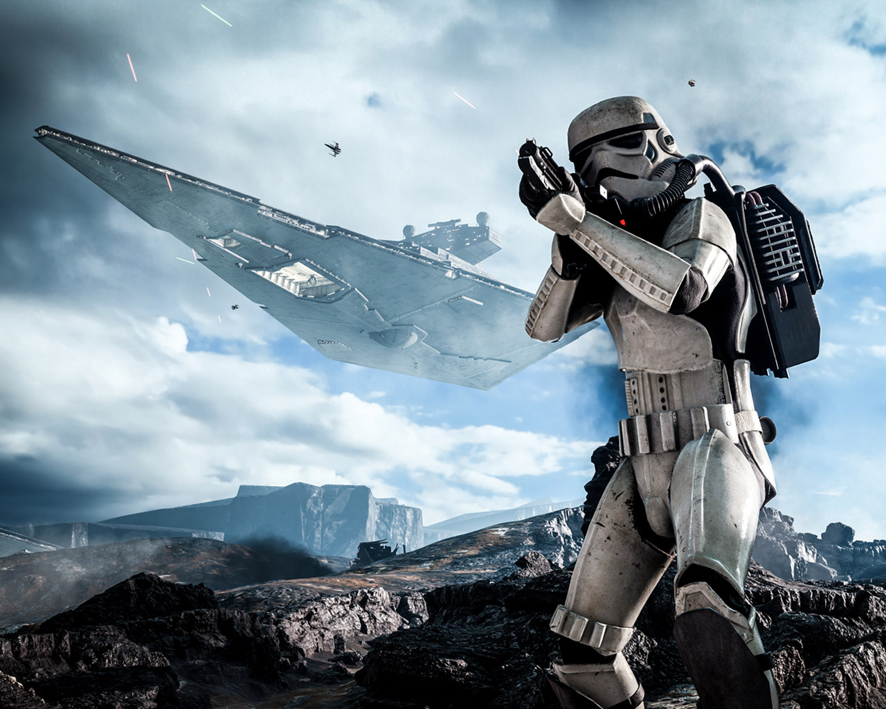 Free Star Wars Battlefront Wallpaper In 1280x1024