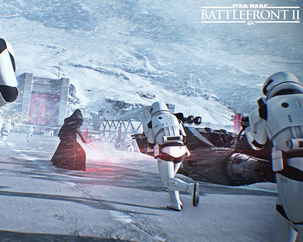 Free Star Wars: Battlefront II Wallpaper in 1280x1024