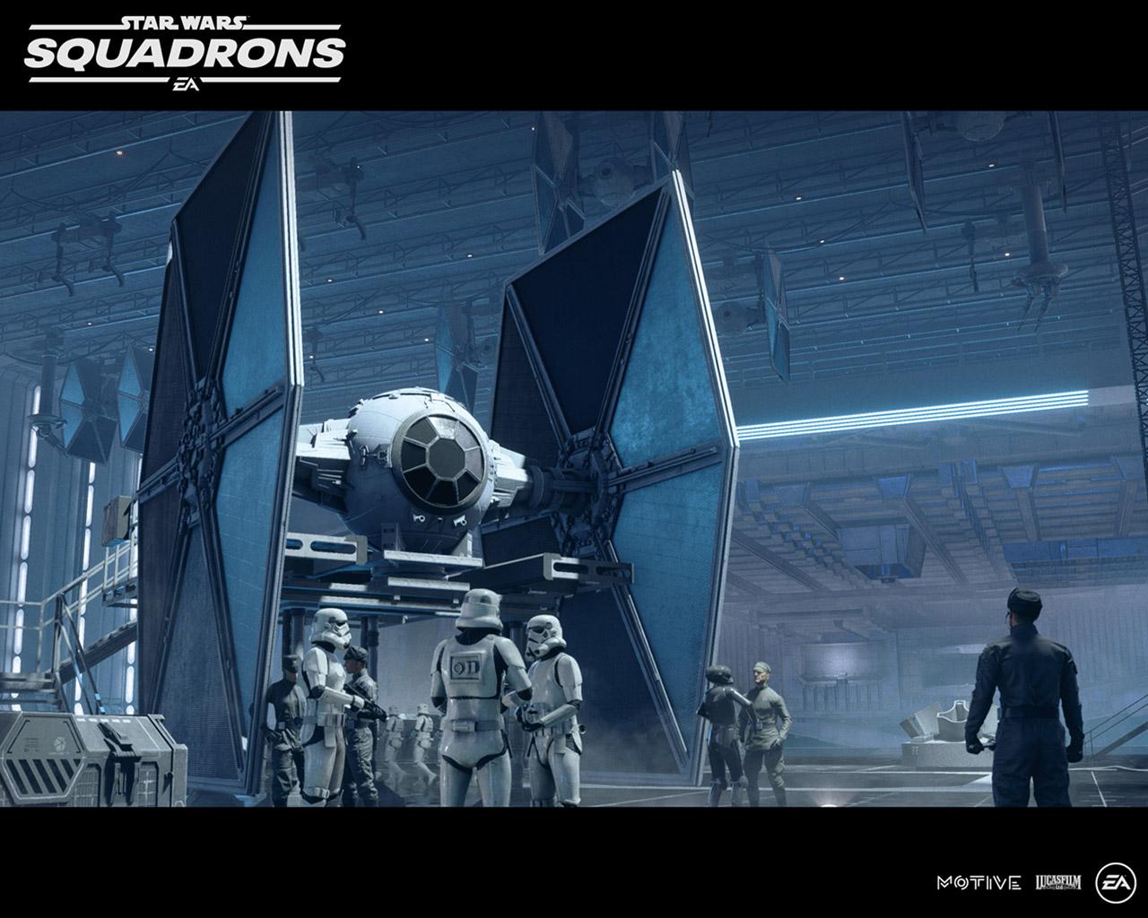Free Star Wars: Squadrons Wallpaper in 1280x1024