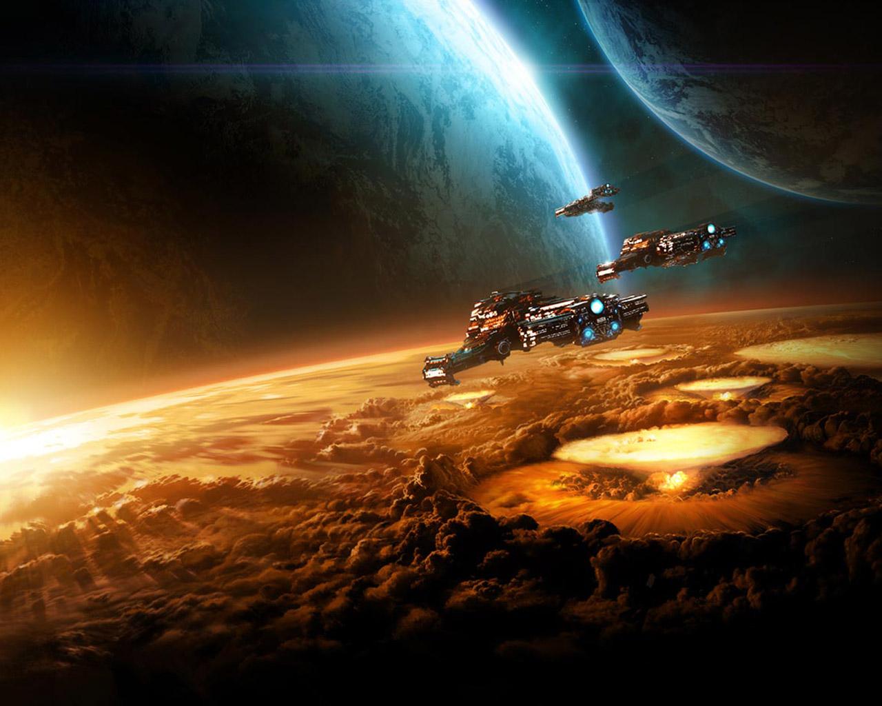 Free Starcraft 2 Wallpaper in 1280x1024