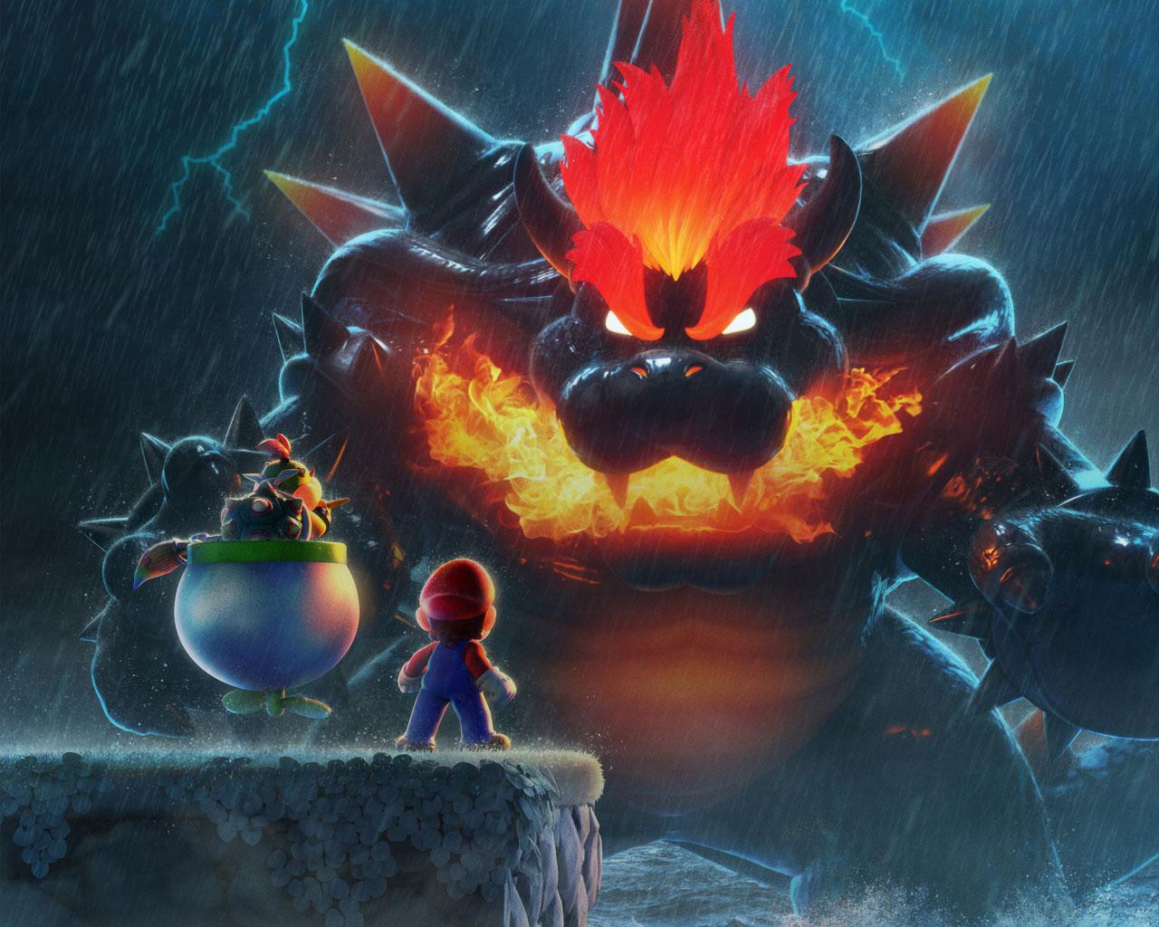 Free Super Mario 3D World Wallpaper in 1280x1024