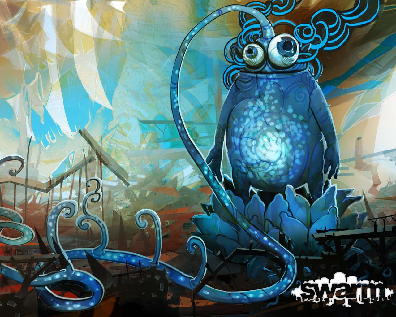 Swarm Wallpaper in 1280x1024