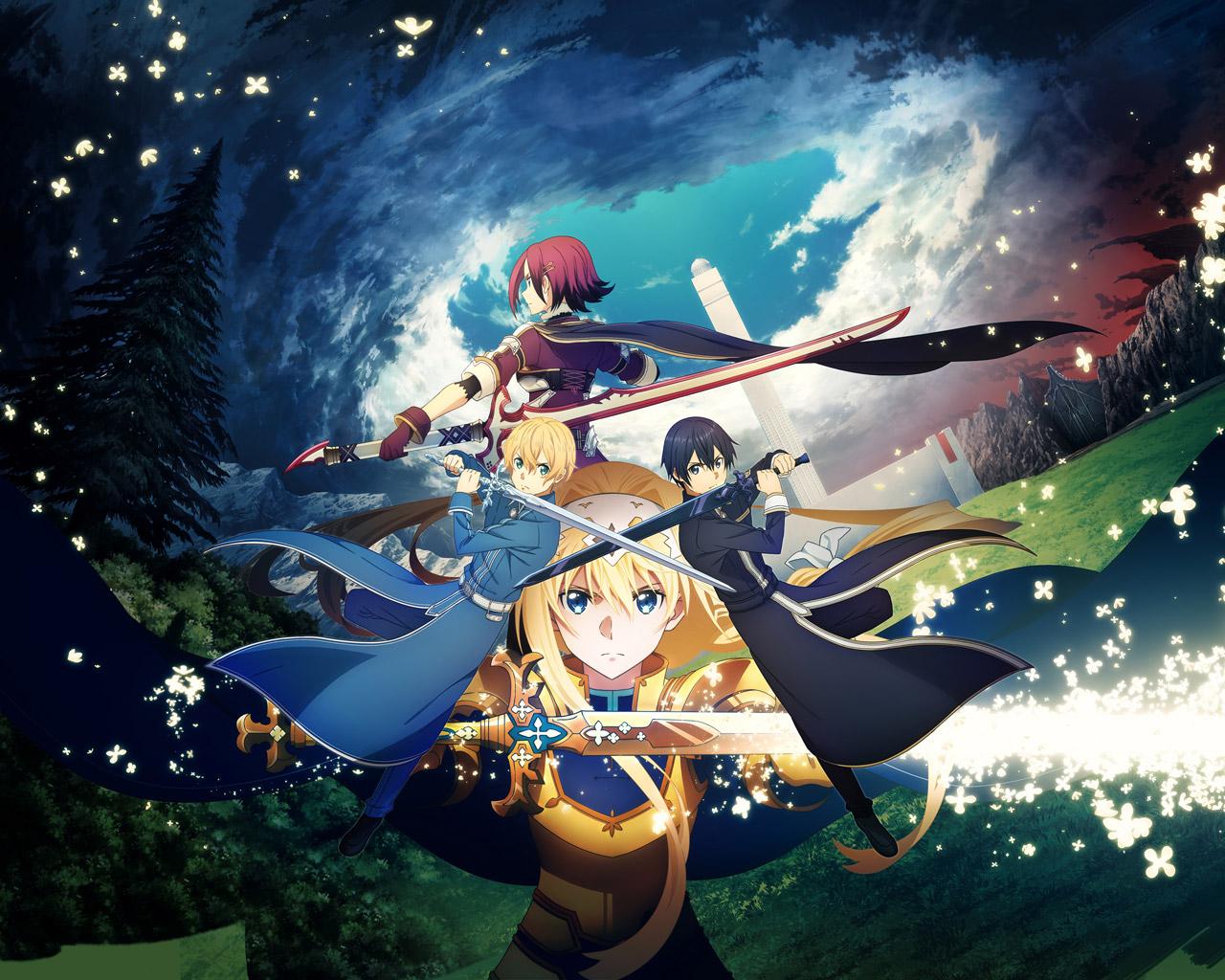 Sword Art Online: Alicization Lycoris Wallpaper in 1280x1024
