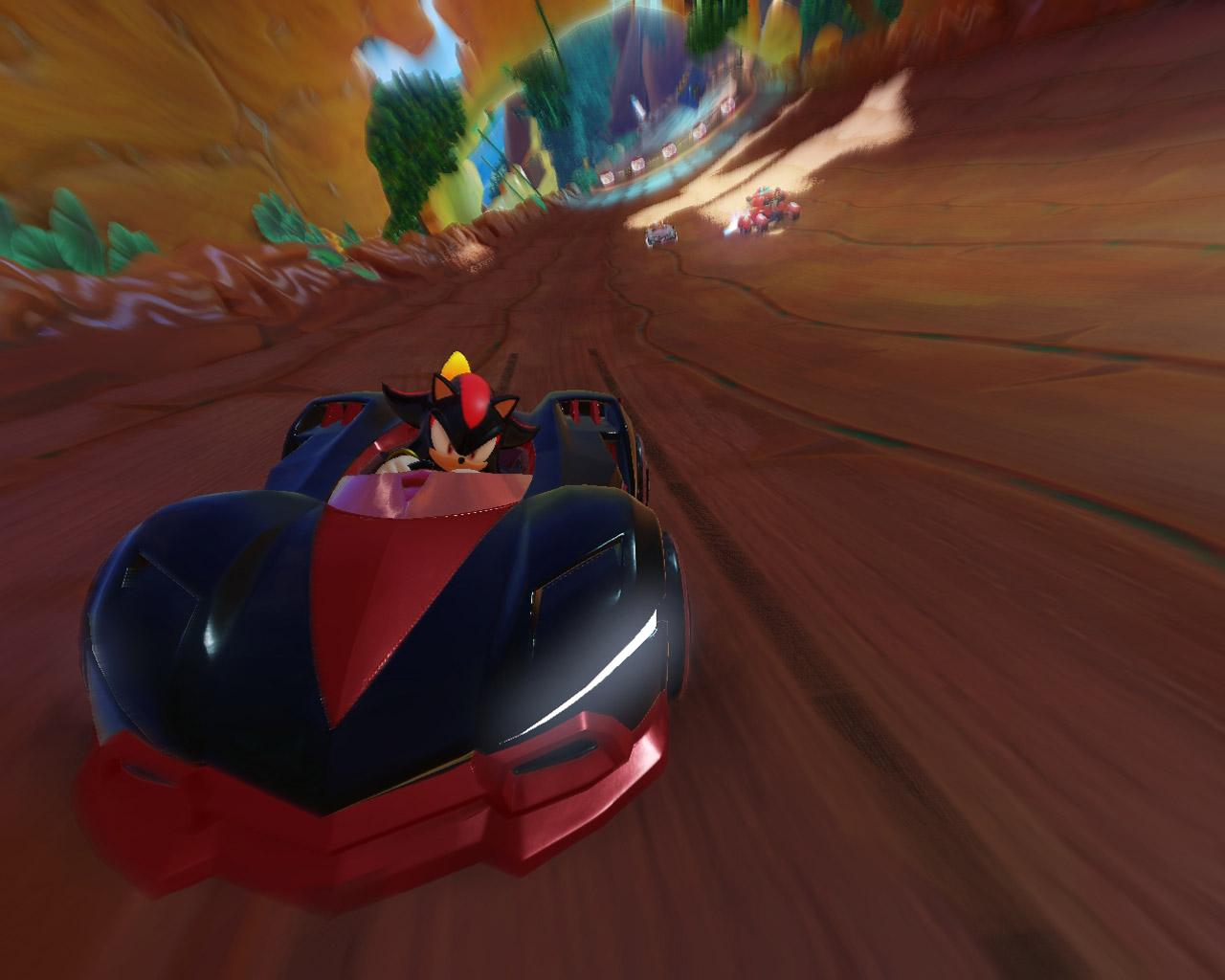 Free Team Sonic Racing Wallpaper in 1280x1024