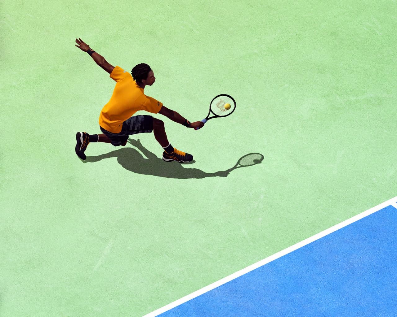 Tennis World Tour Wallpaper in 1280x1024