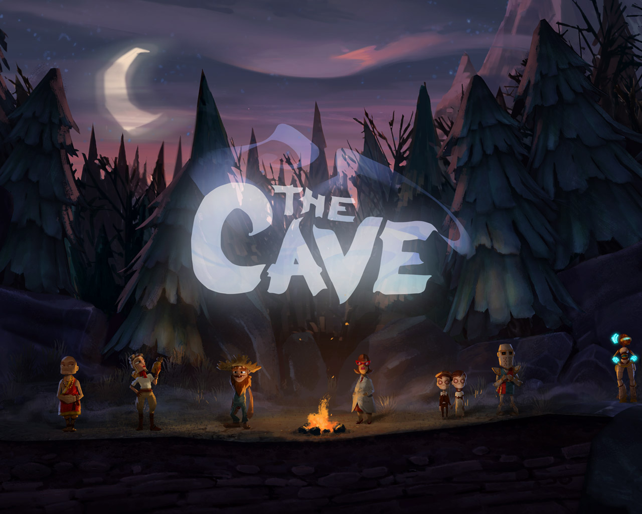 Free The Cave Wallpaper in 1280x1024