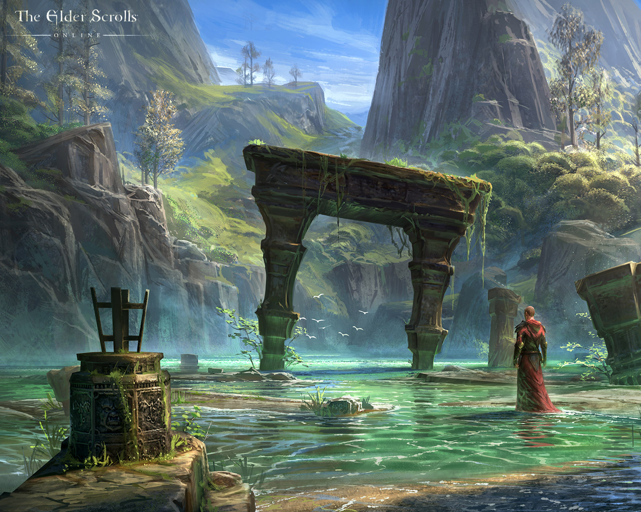 Free The Elder Scrolls Online Wallpaper in 1280x1024
