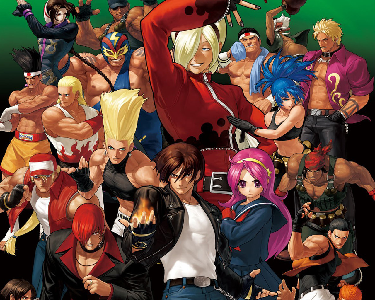 Free The King of Fighters XII Wallpaper in 1280x1024