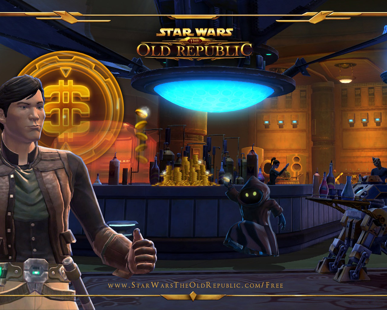 Free Star Wars: The Old Republic Wallpaper in 1280x1024
