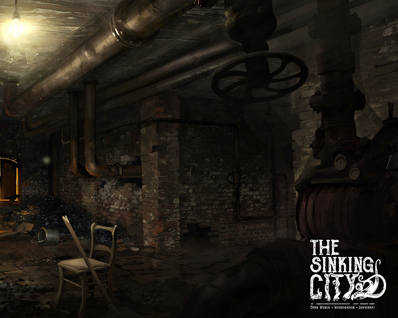 The Sinking City Wallpaper in 1280x1024
