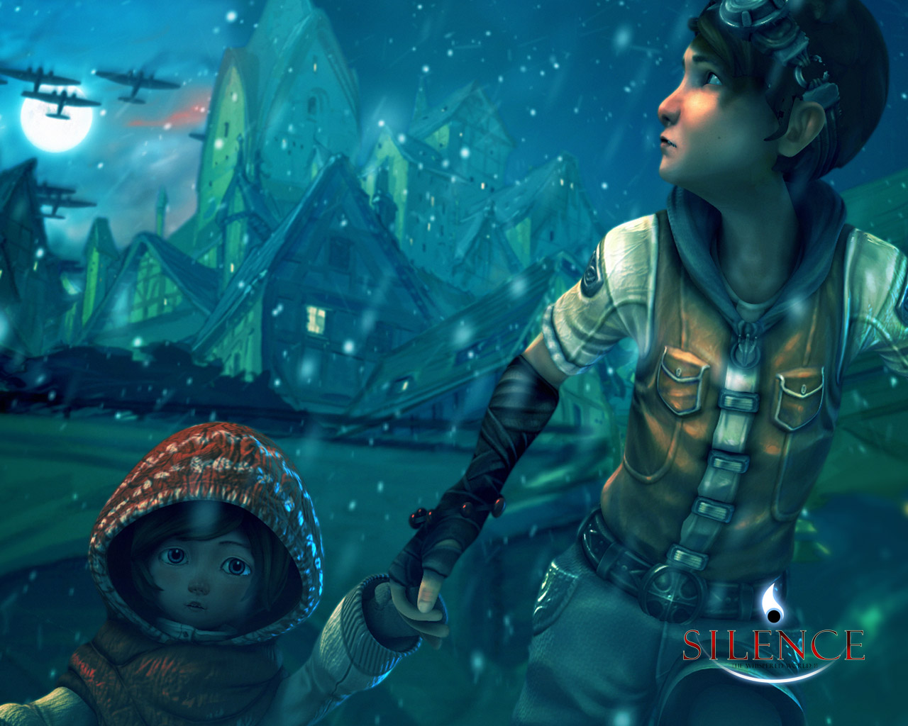 Silence: The Whispered World 2 Wallpaper in 1280x1024