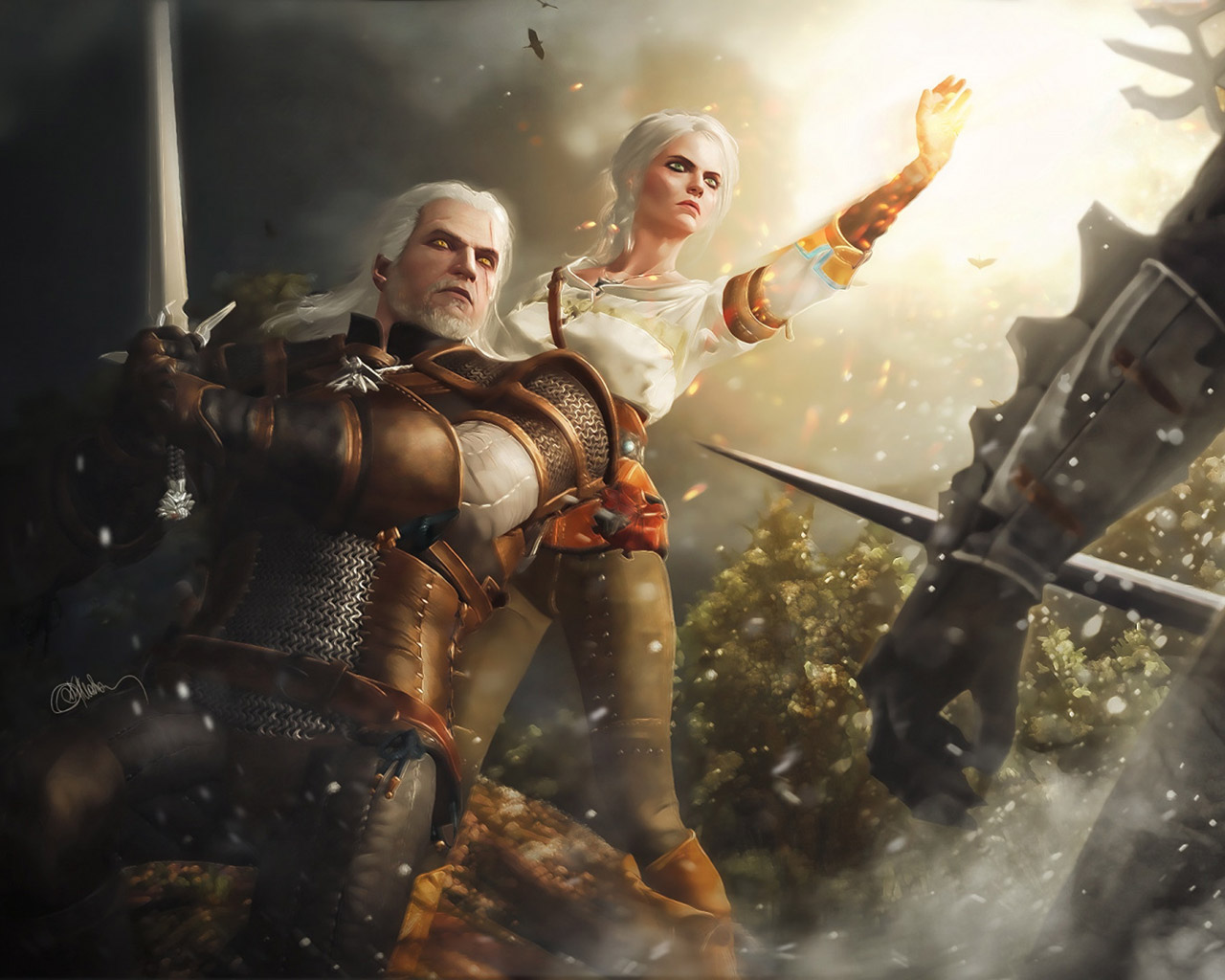 The Witcher 3 Wallpaper in 1280x1024