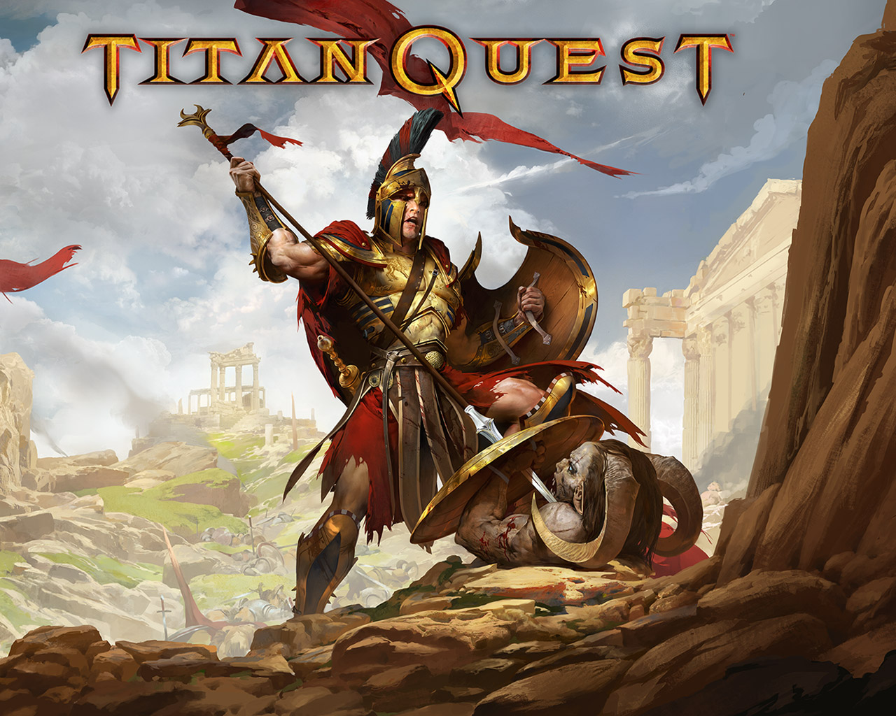 Titan Quest Wallpaper in 1280x1024